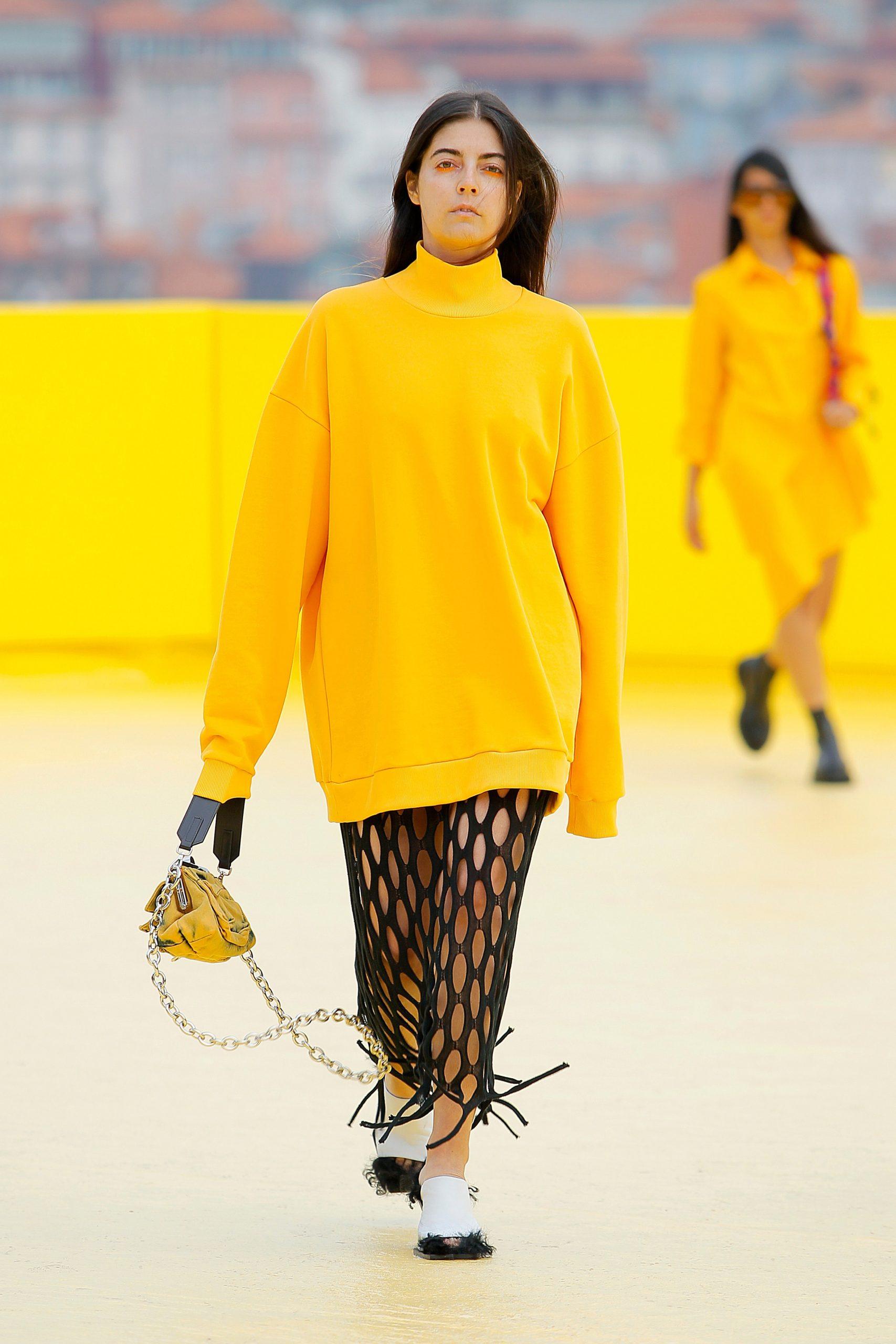 Marques' Almeida Spring 2021 Fashion Show Photos