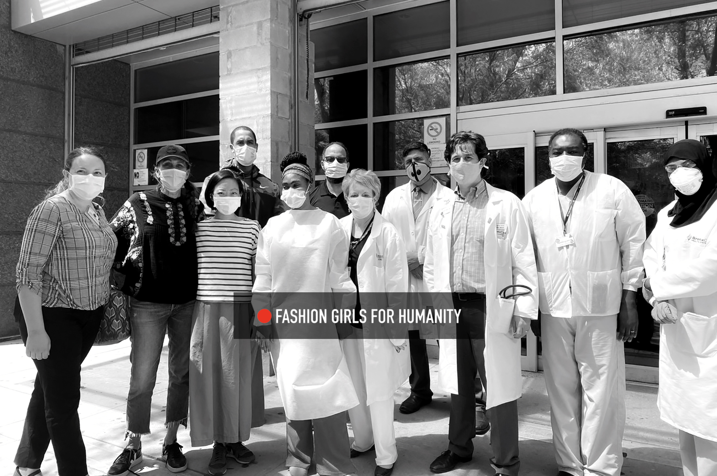 Fashion Girls For Humanity Donates 4,000 PPE Gowns