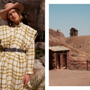 The Temple fashion editorial by Marina Ventola, Belen Stratta, Johy Turek