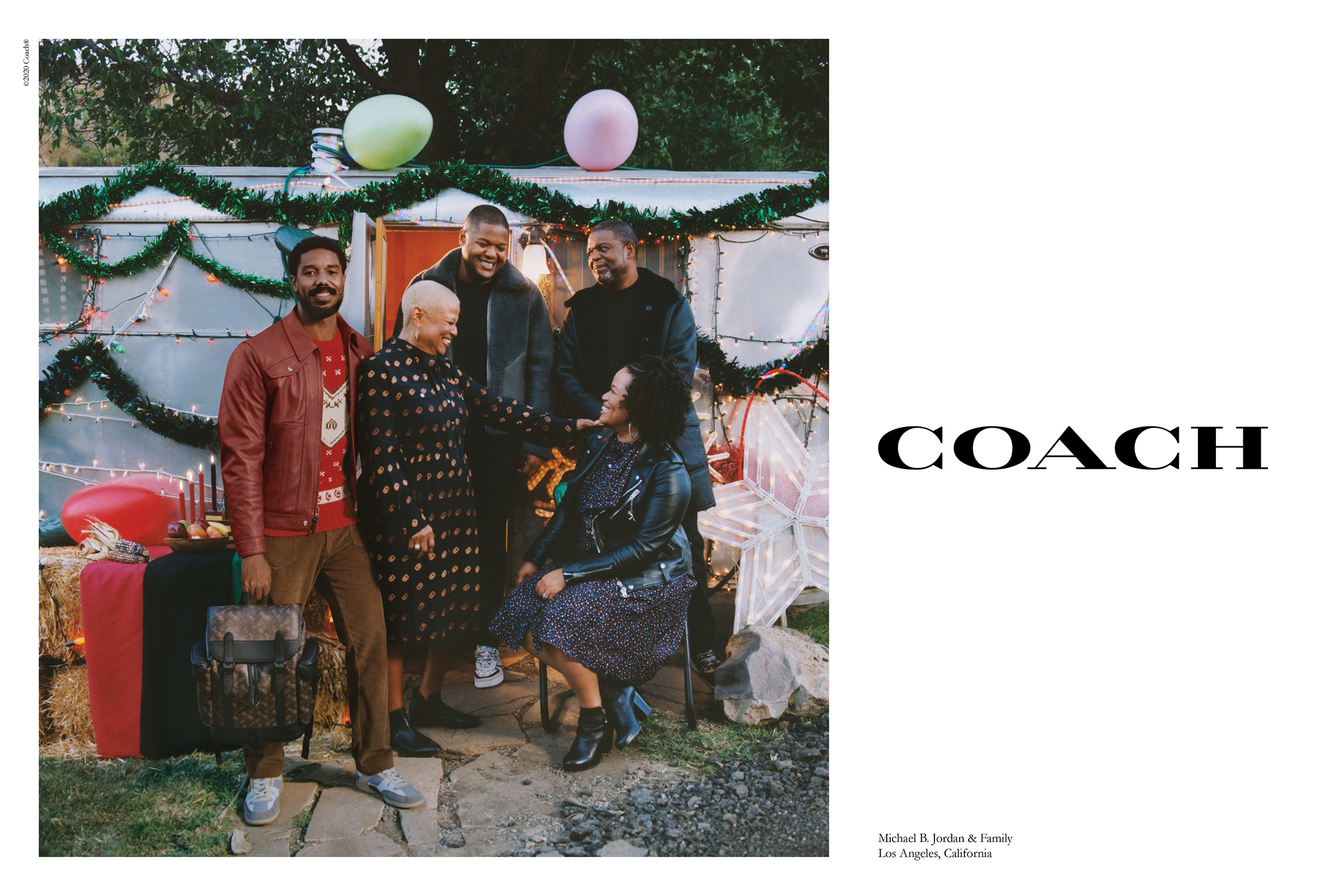 Coach Holiday 2020 Ad Campaign Film & Photos