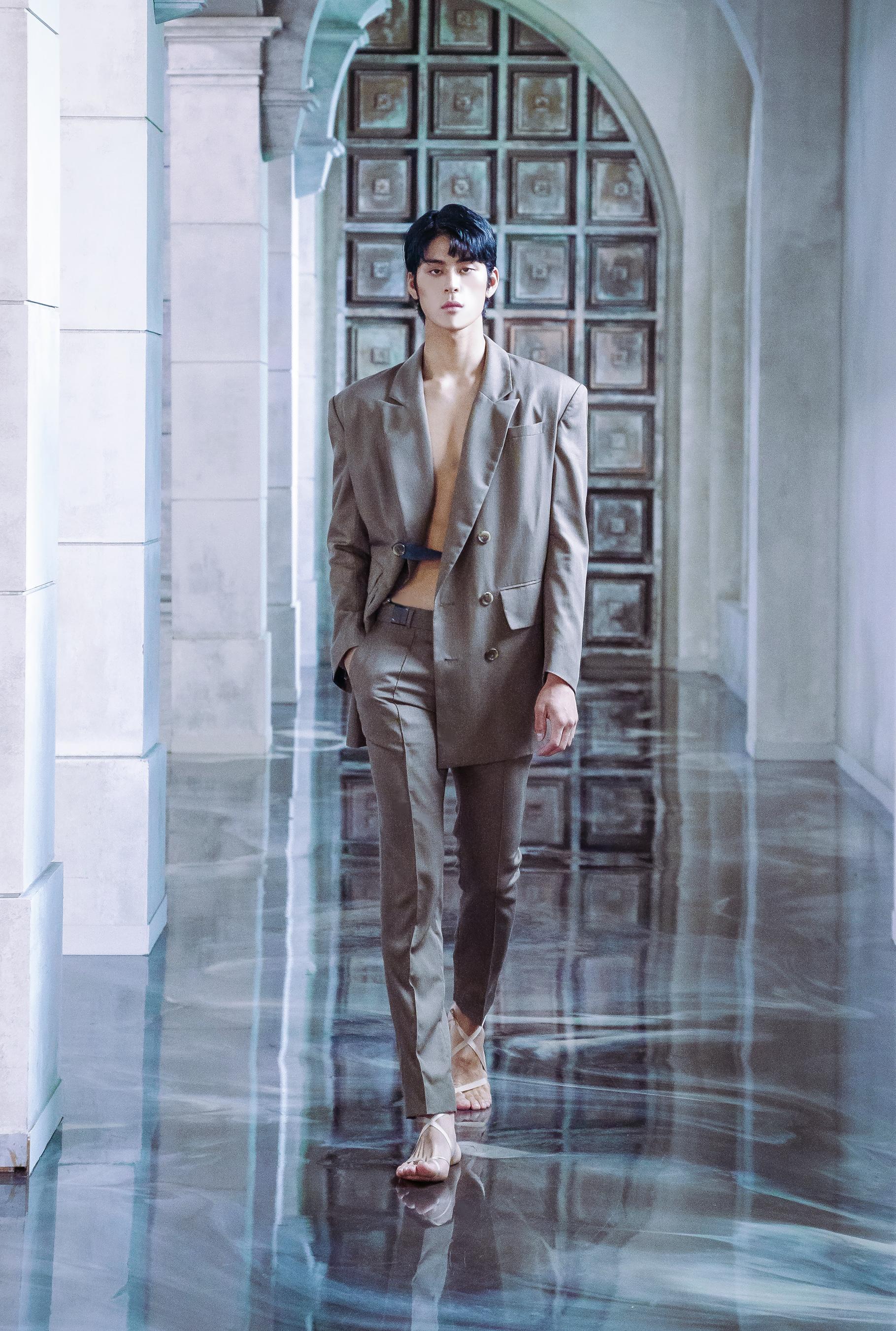 De Caffeine Homme Spring 2021 Fashion Show Photos