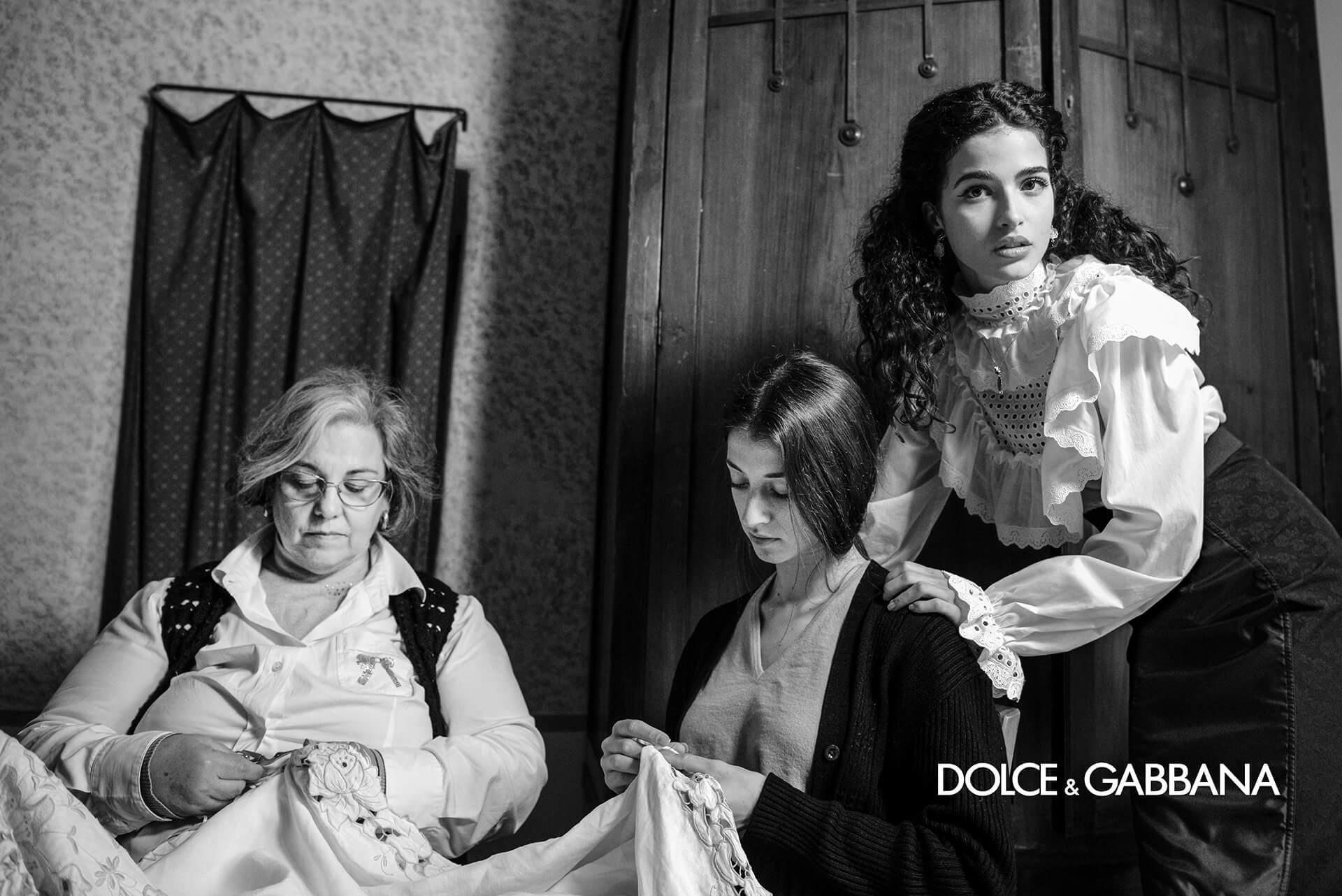 Dolce & Gabbana Fall 2020 Ad Campaign Francesco Finizio