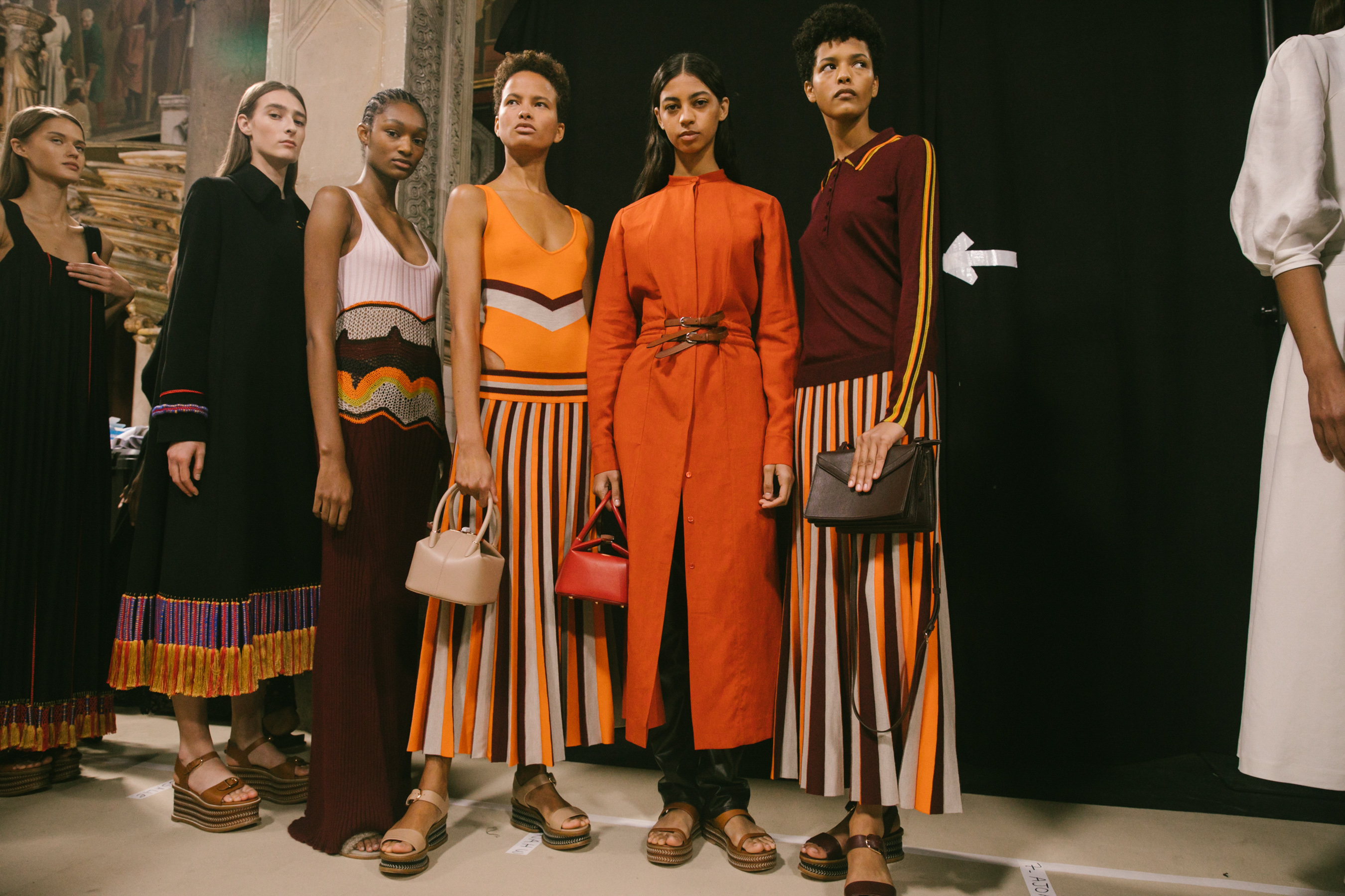 Gabriela Hearst Spring 2021 Fashion Show Backstage