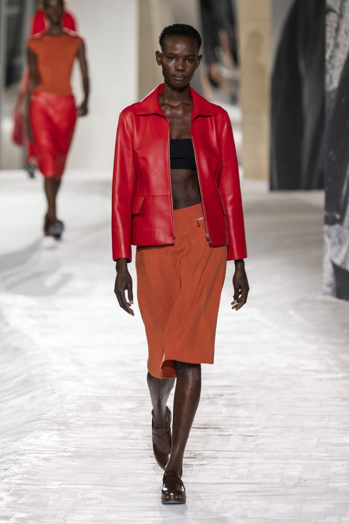 Review of Hermes spring 2021 fashion show