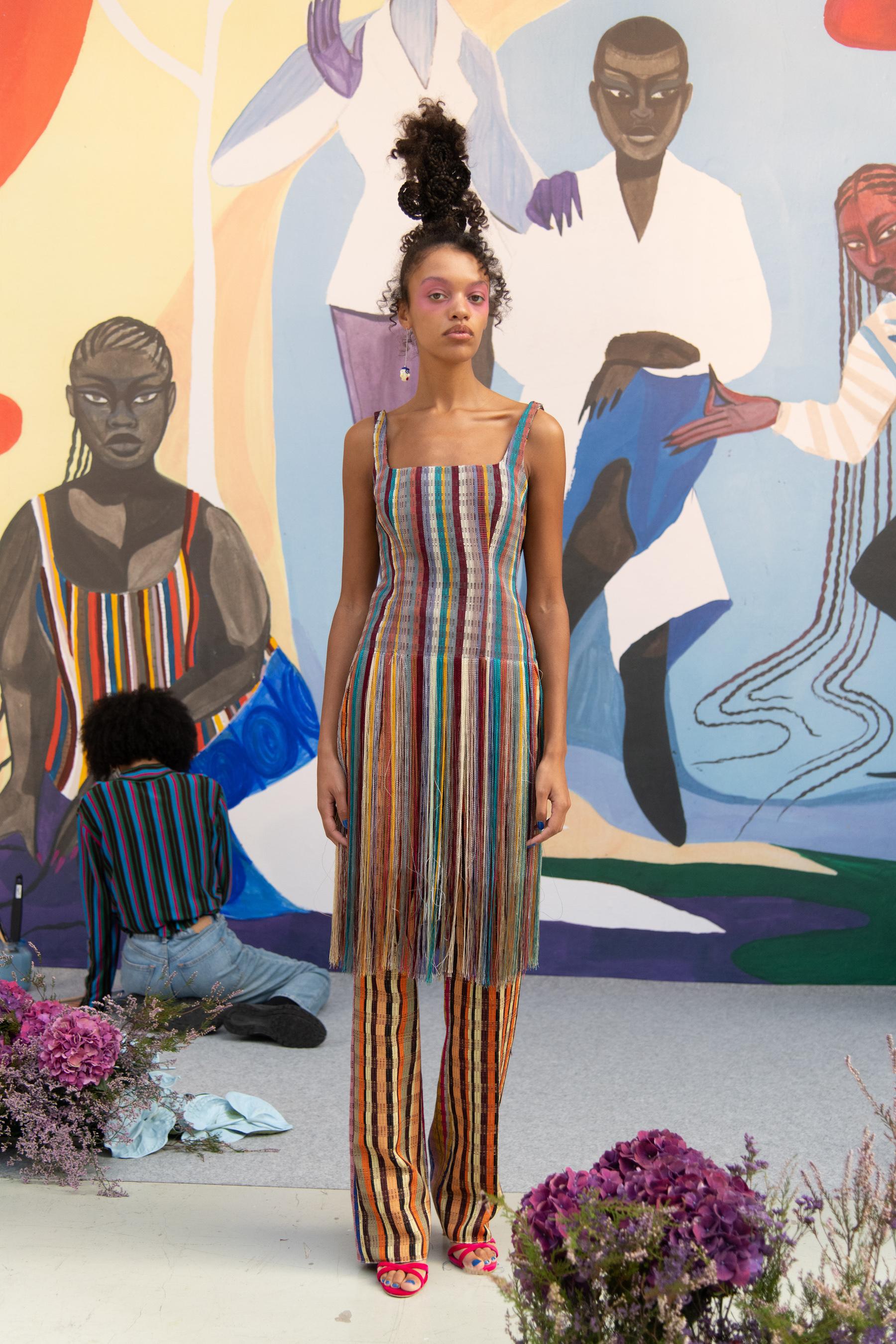 Kenneth Ize Spring 2021 Fashion Show