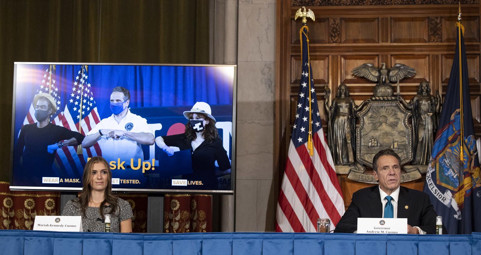 Mask Up NY State Program The RealReal Public School