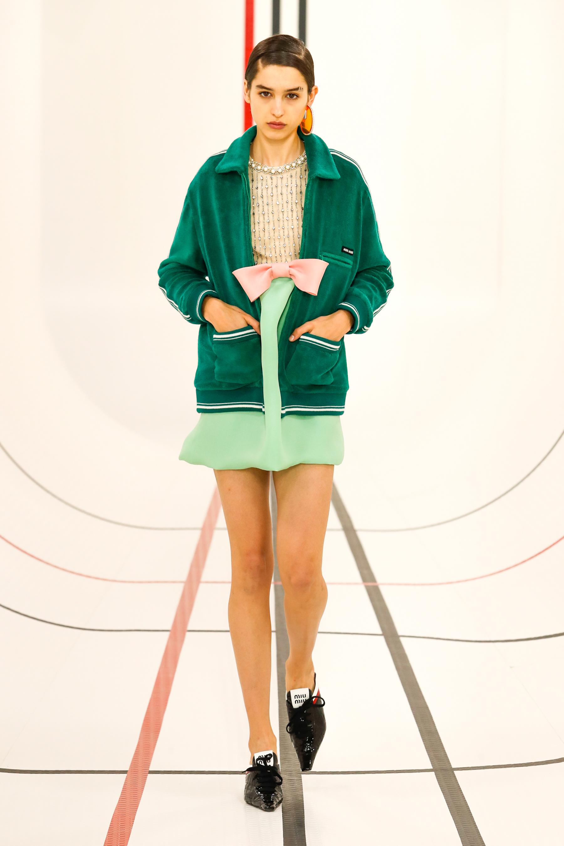 Miu Miu Spring 2021 Fashion Show Photos