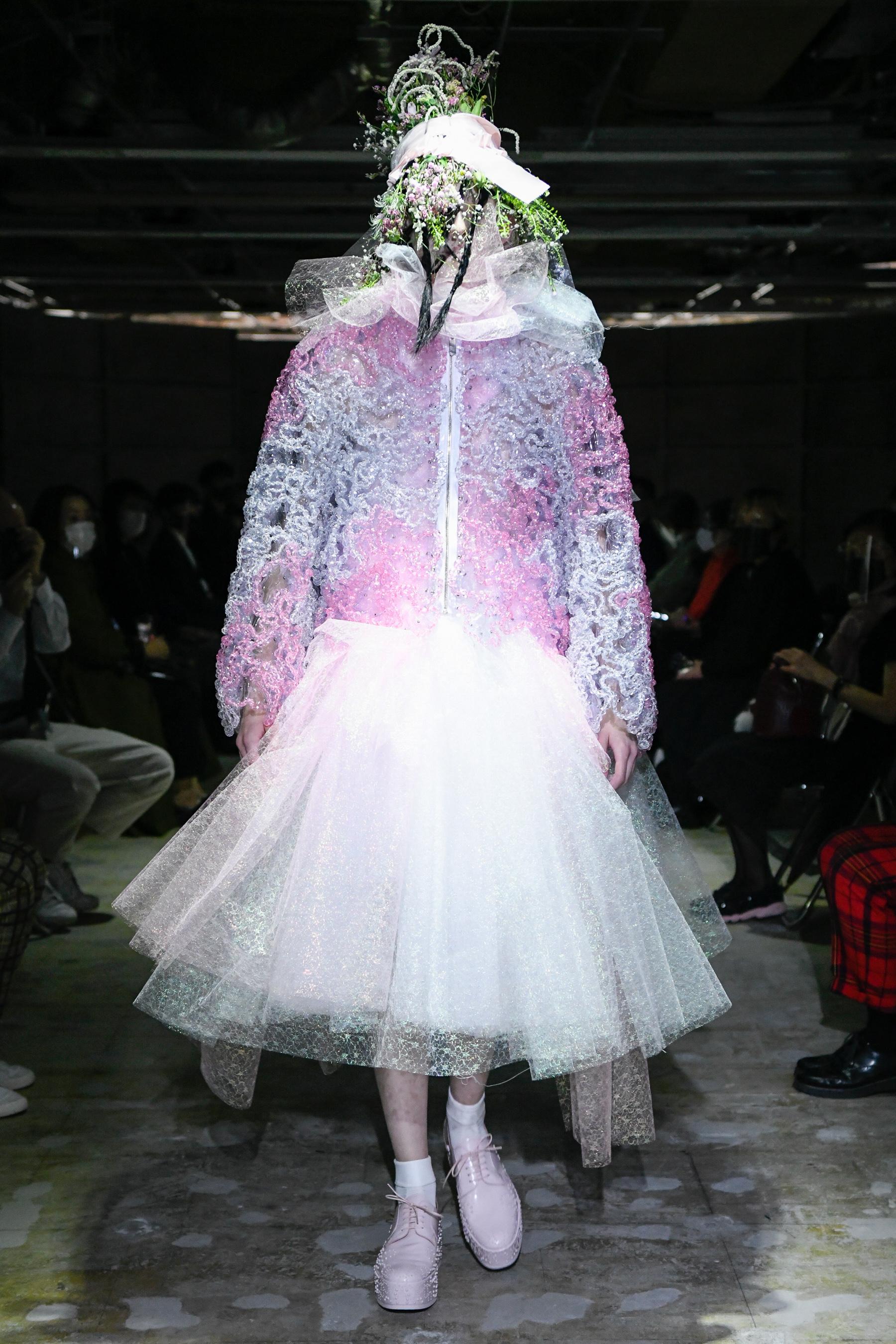 Noir Kei Ninomiya Spring 2021 Fashion Show