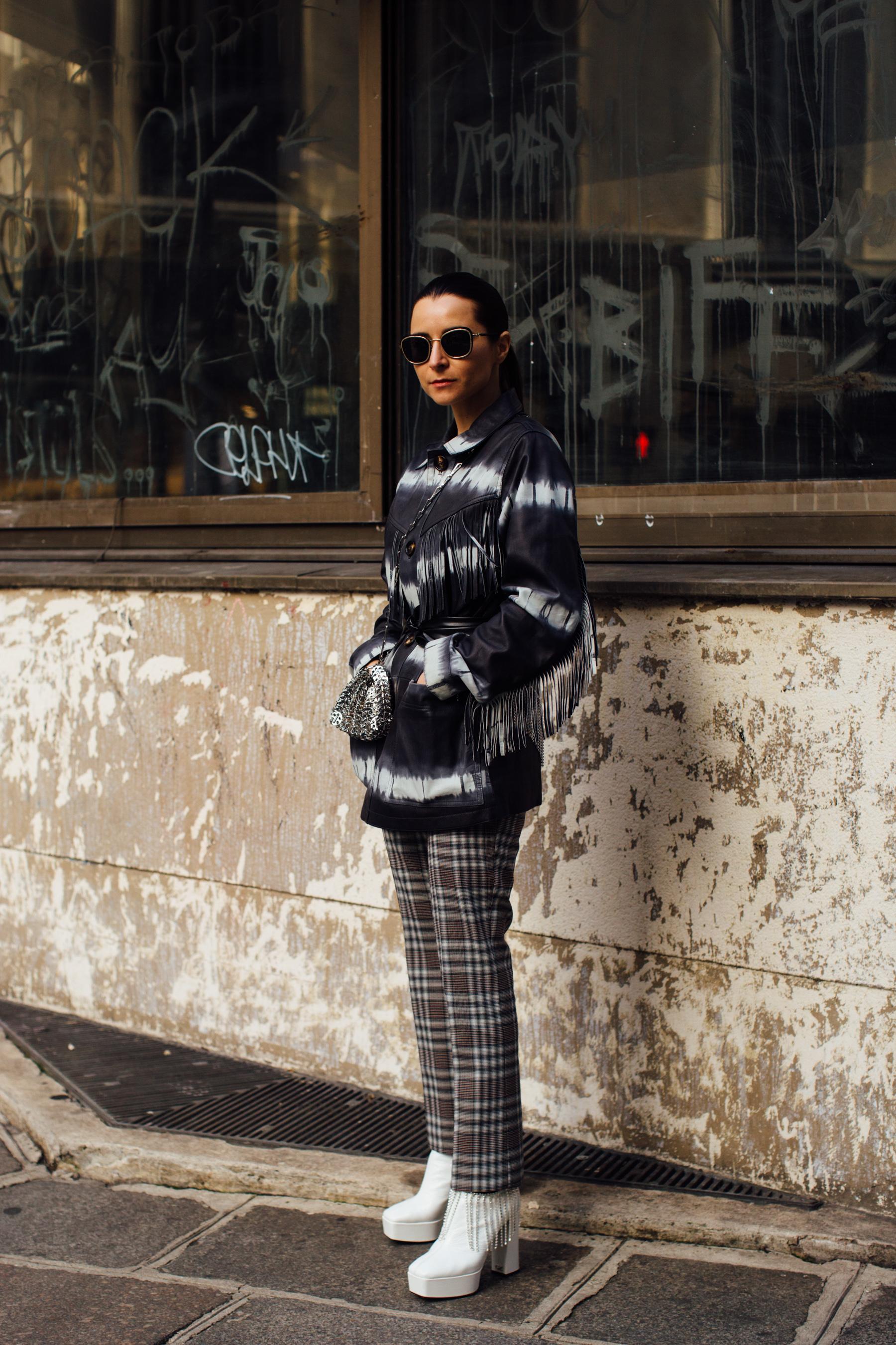 Paris Fashion Week Spring 2021 Street Style Photos