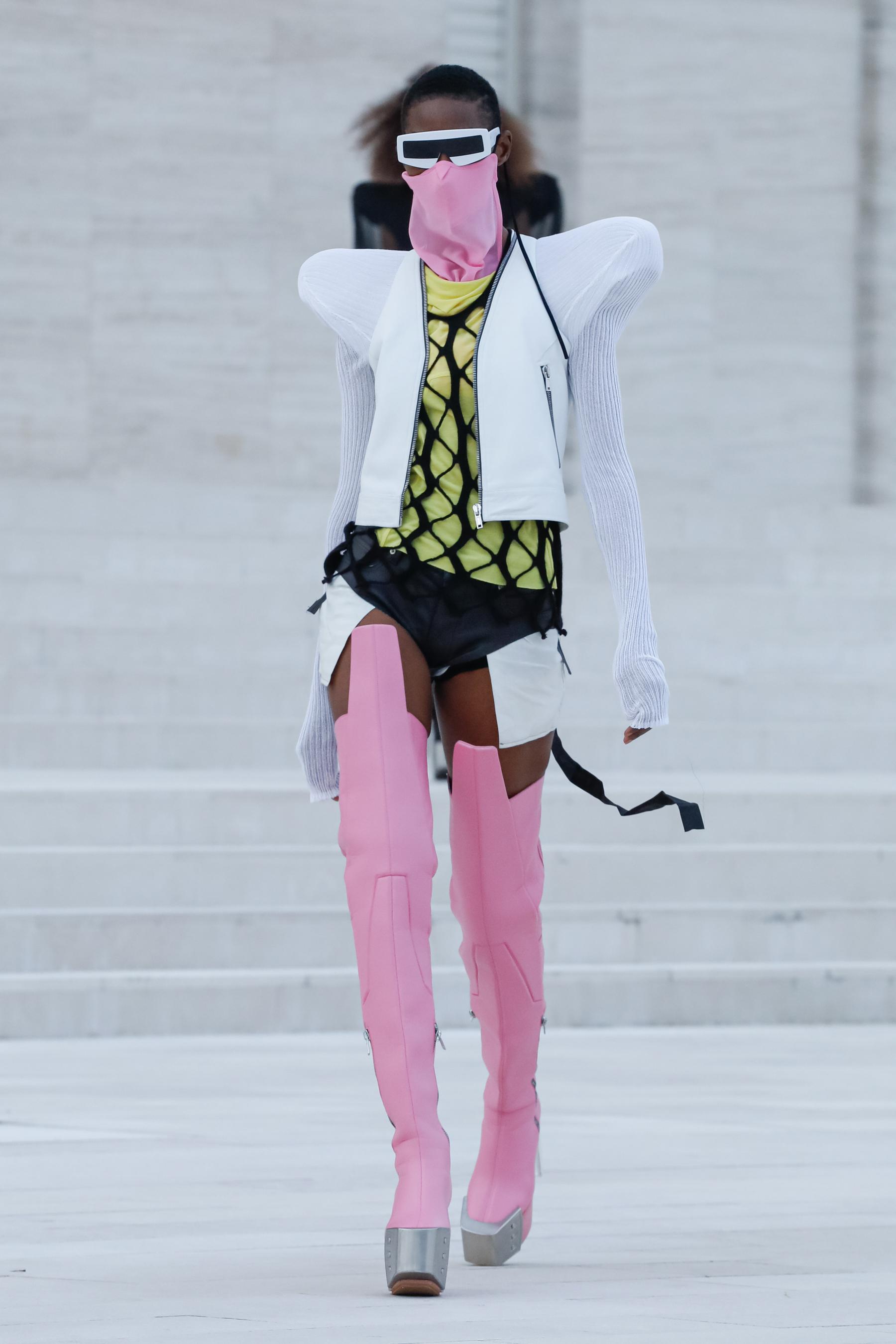 Rick Owens Spring 2021 Fashion Show Photos