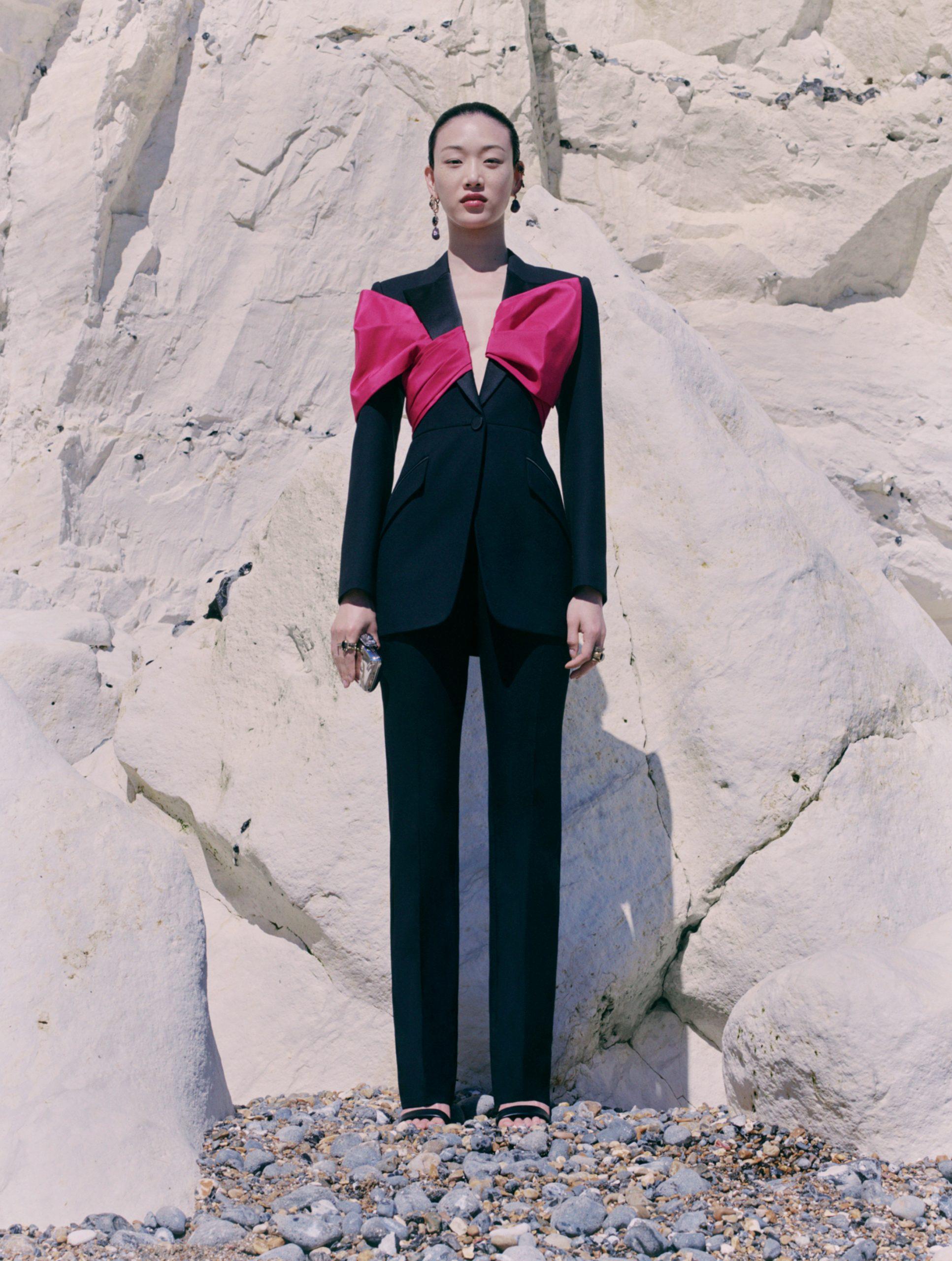 Alexander McQueen Pre-Spring 2021 Fashion Show Photos