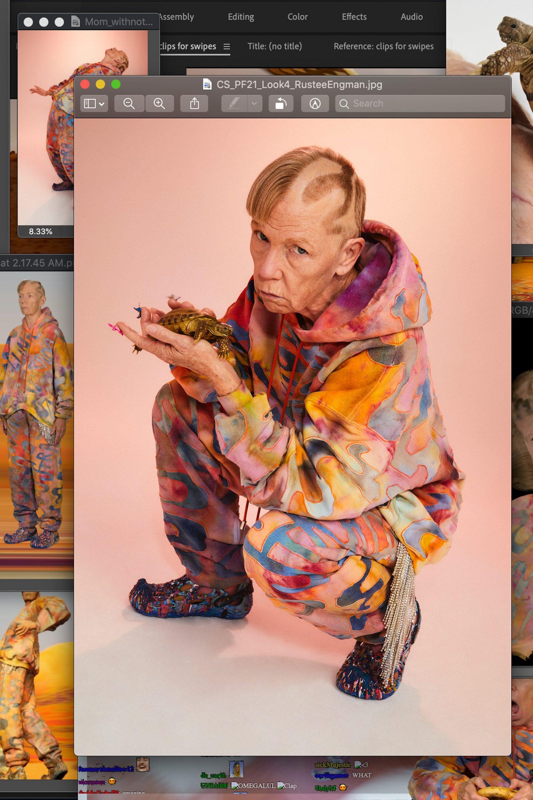 Collina Strada Pre-Fall 2021 Fashion Show Photos
