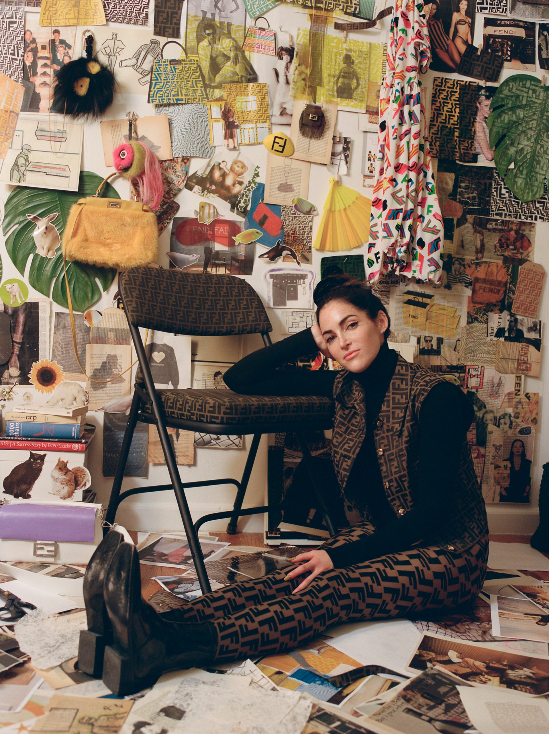 Fendi Collaborates With Artist Sarah Coleman For Design Miami/
