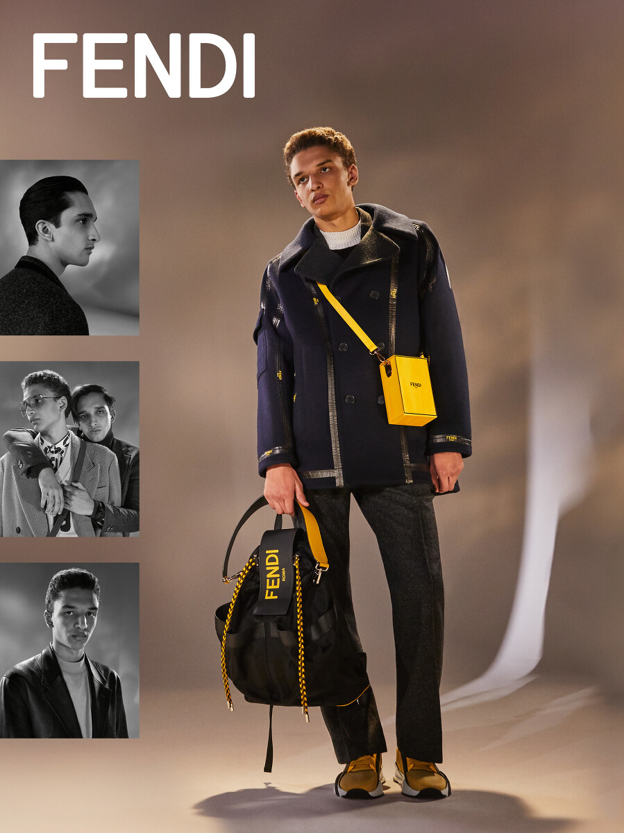 Fendi Men's Fall 2020 Ad Campaign Photos