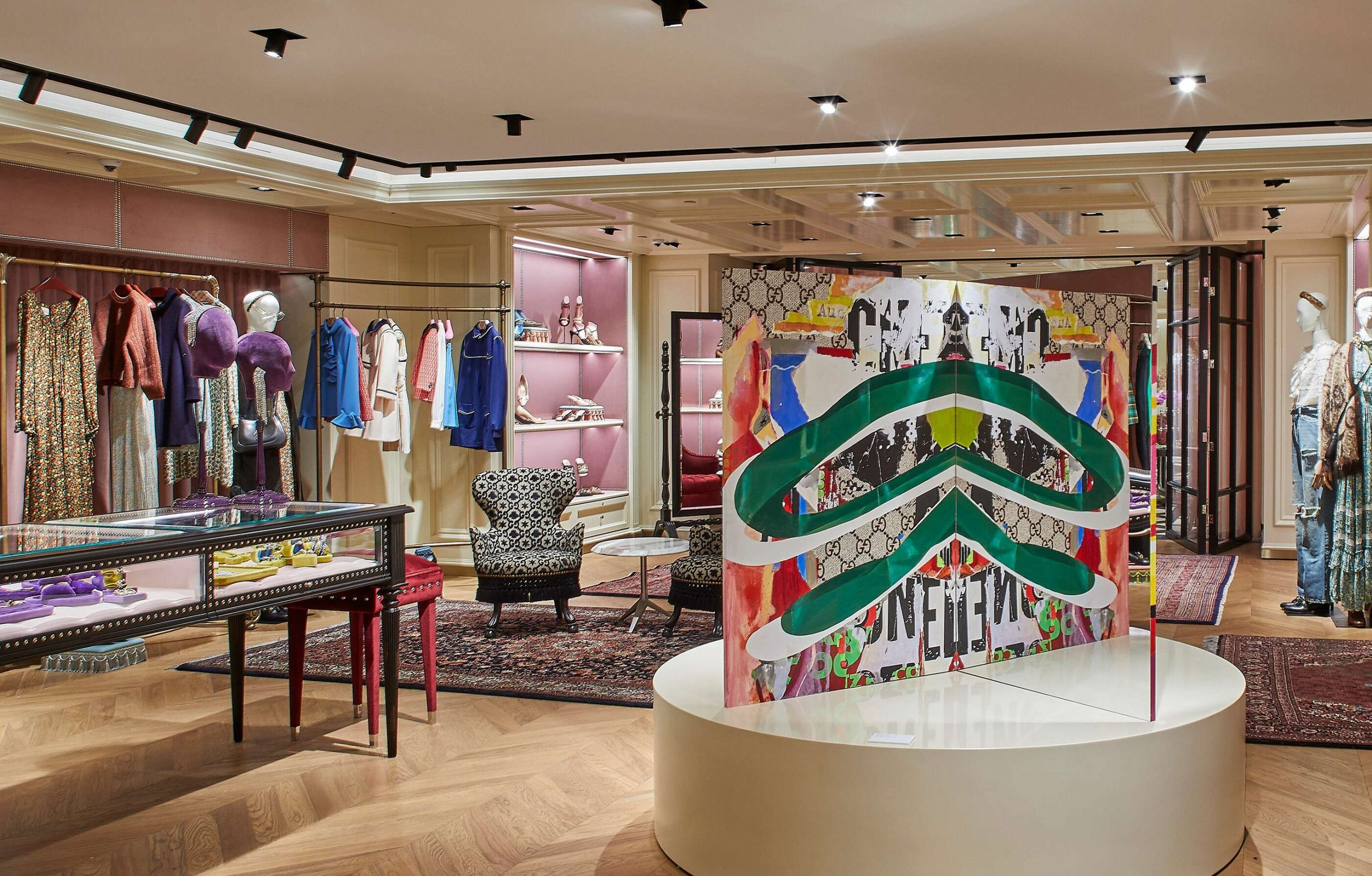 Gucci Re-Opens Sydney Flagship