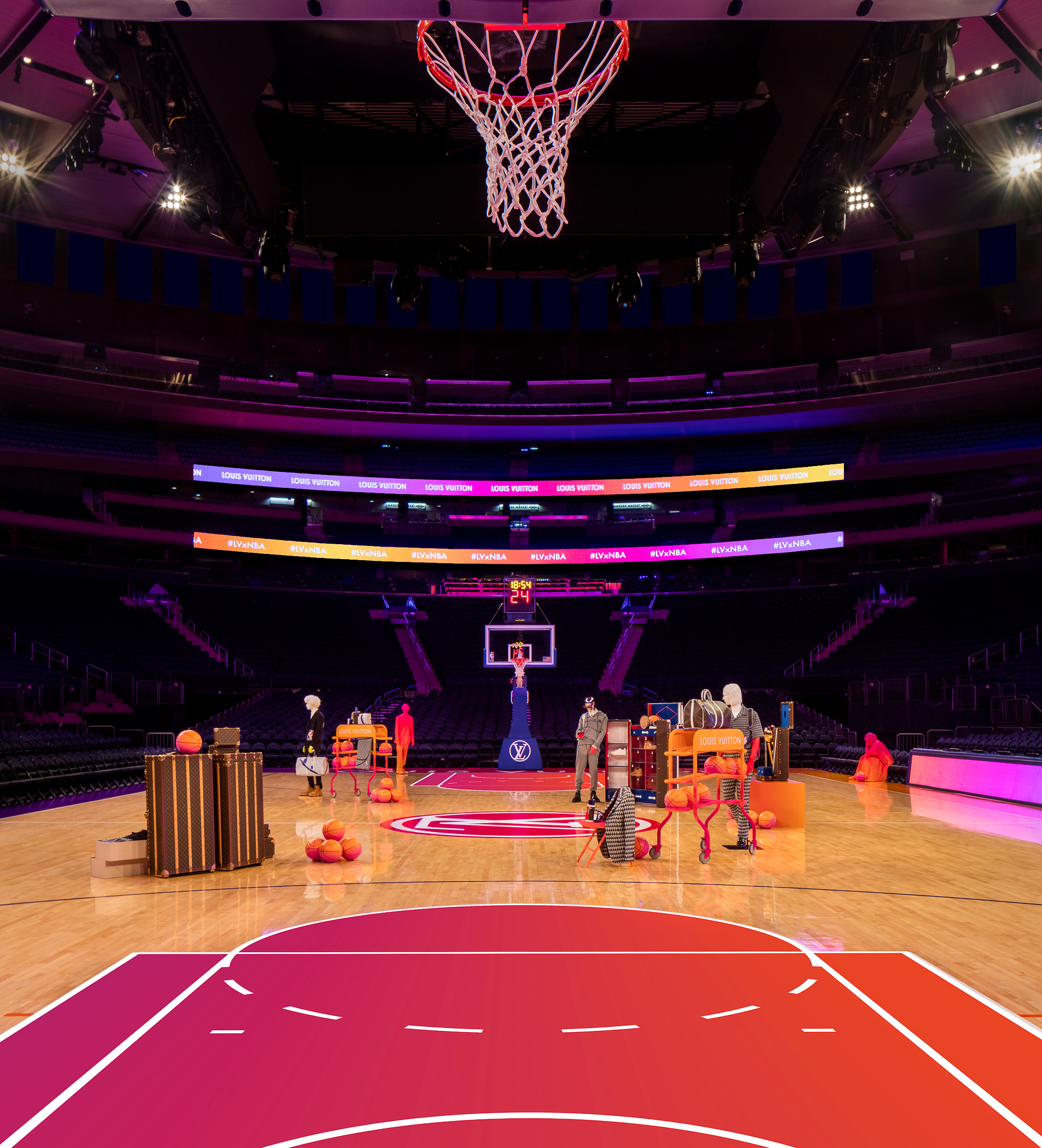 Louis Vuitton launches LVxNBA Collaboration with NBA All-Stars
