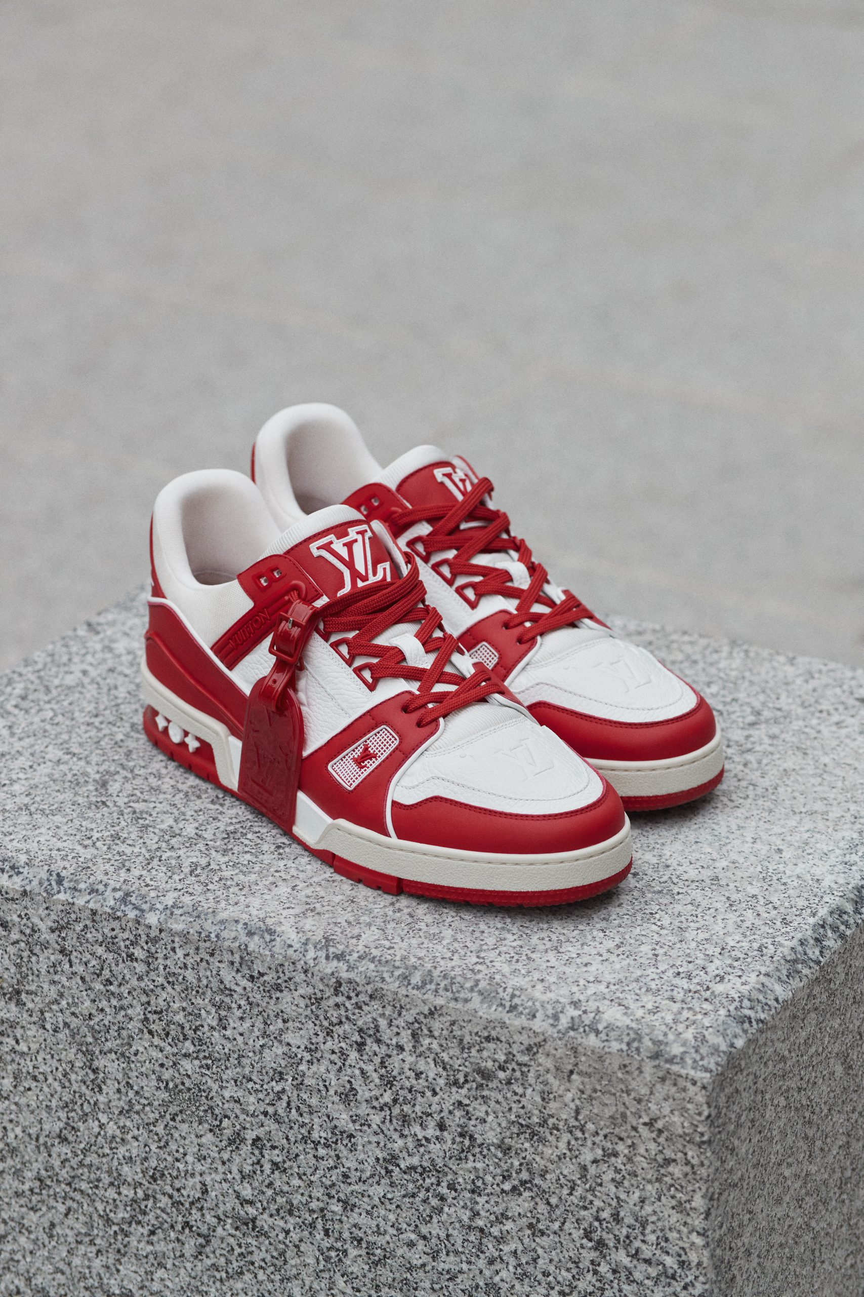 Louis Vuitton X (Red) Launch New Trainer In The Fight Against Aids