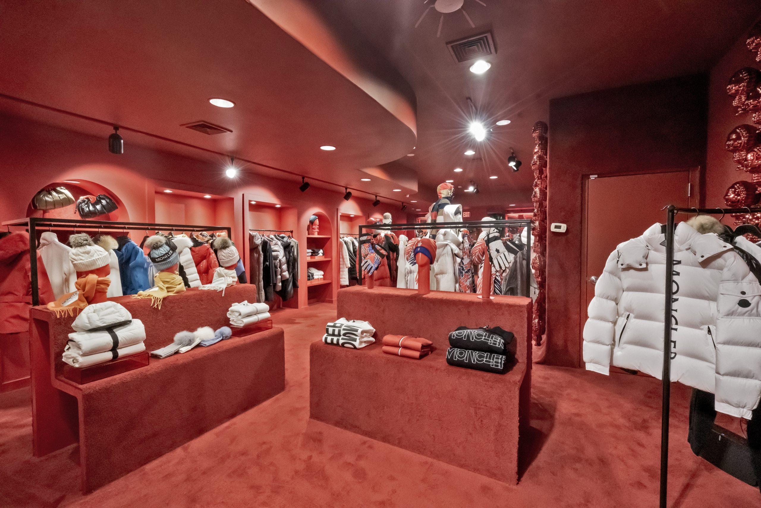 Moncler Opens Pop-Up Winter Boutique In Greenwich CT