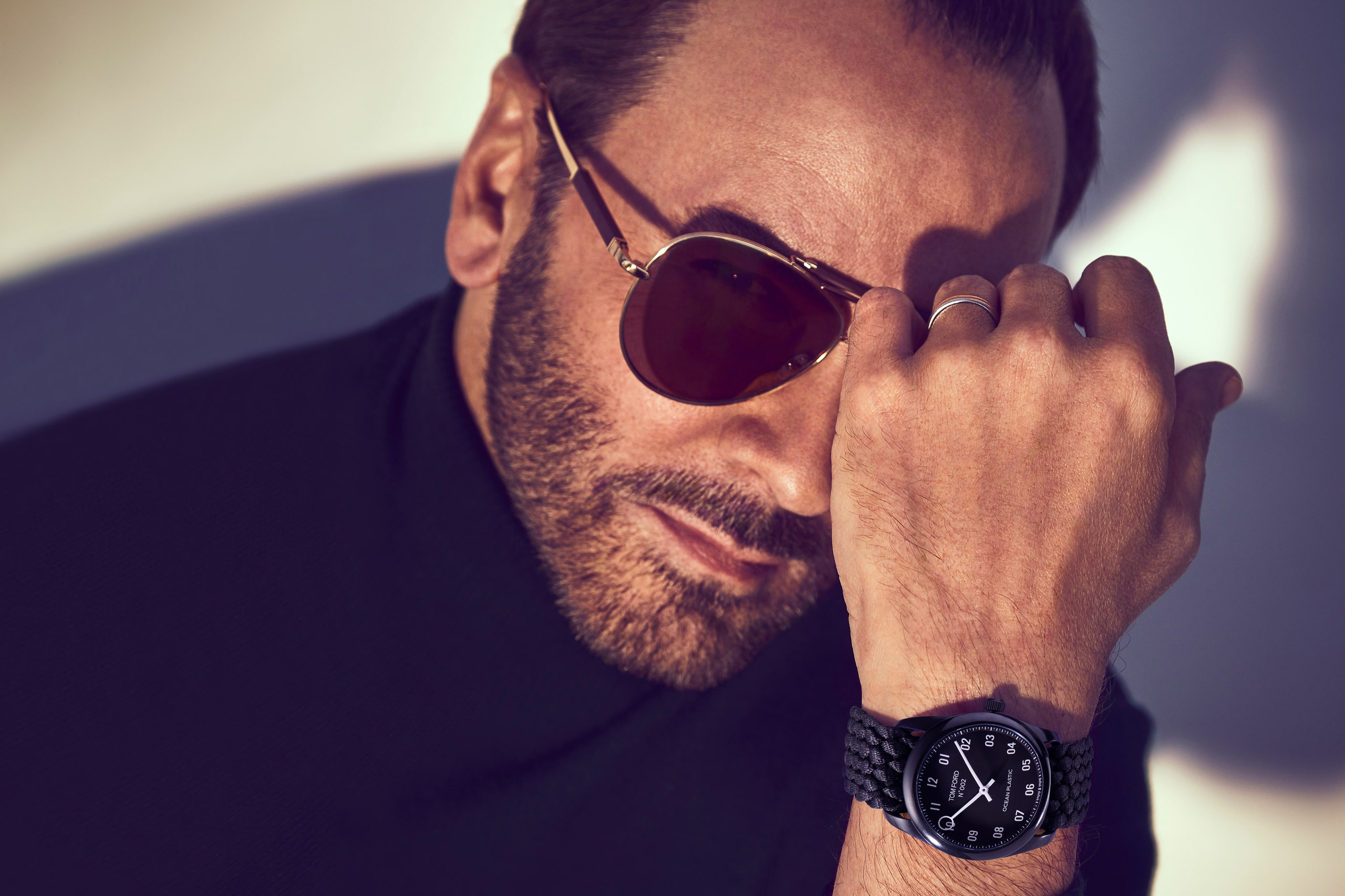 Tom Ford Launches Ocean Plastic Timepiece
