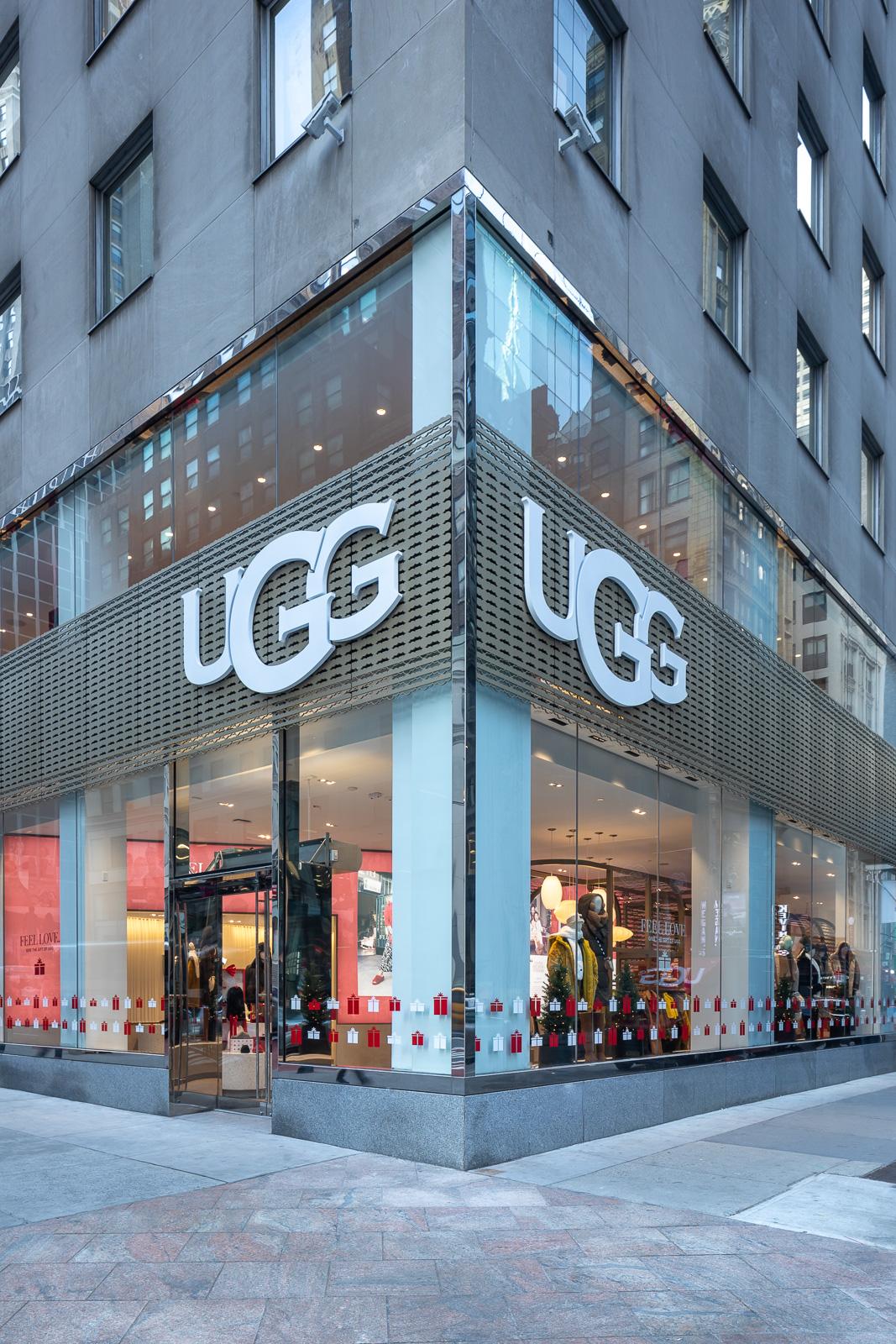 Ugg Debuts NYC Flagship Store
