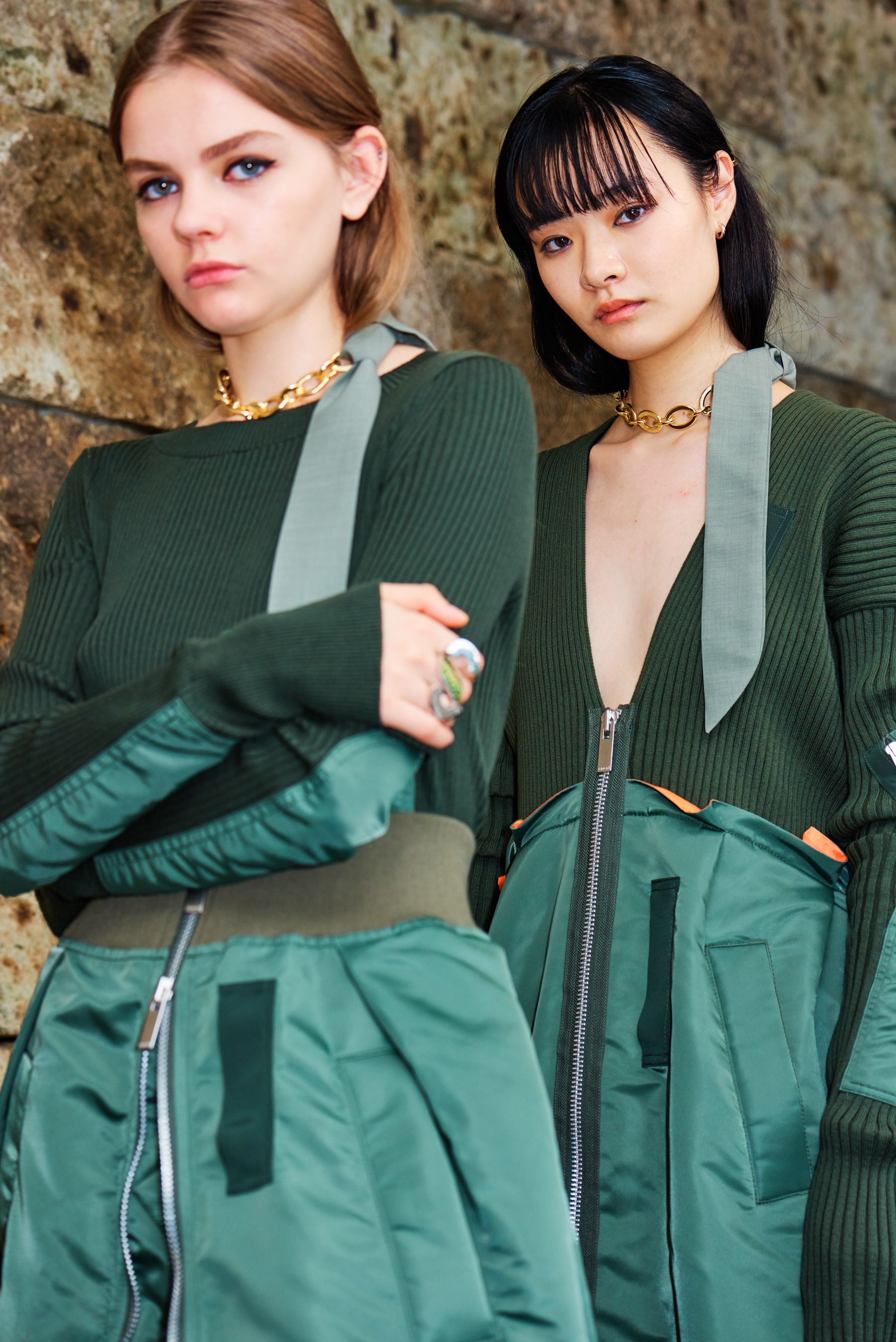 Sacai Spring 2021 Fashion Show Photos