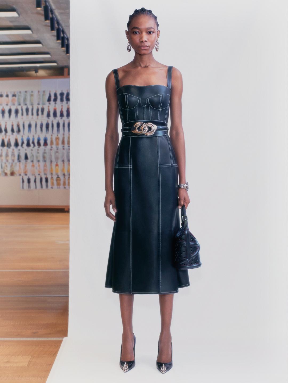 Alexander McQueen Spring 2021 Fashion Show Photos