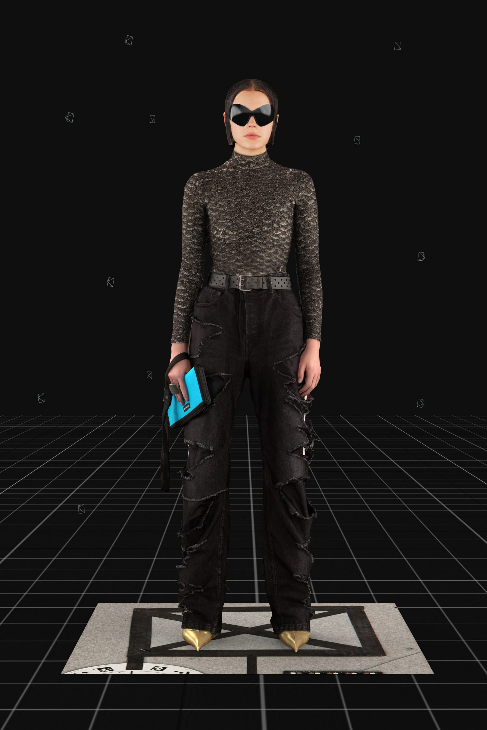 Balenciaga Fall 2021 Fashion Show Photos