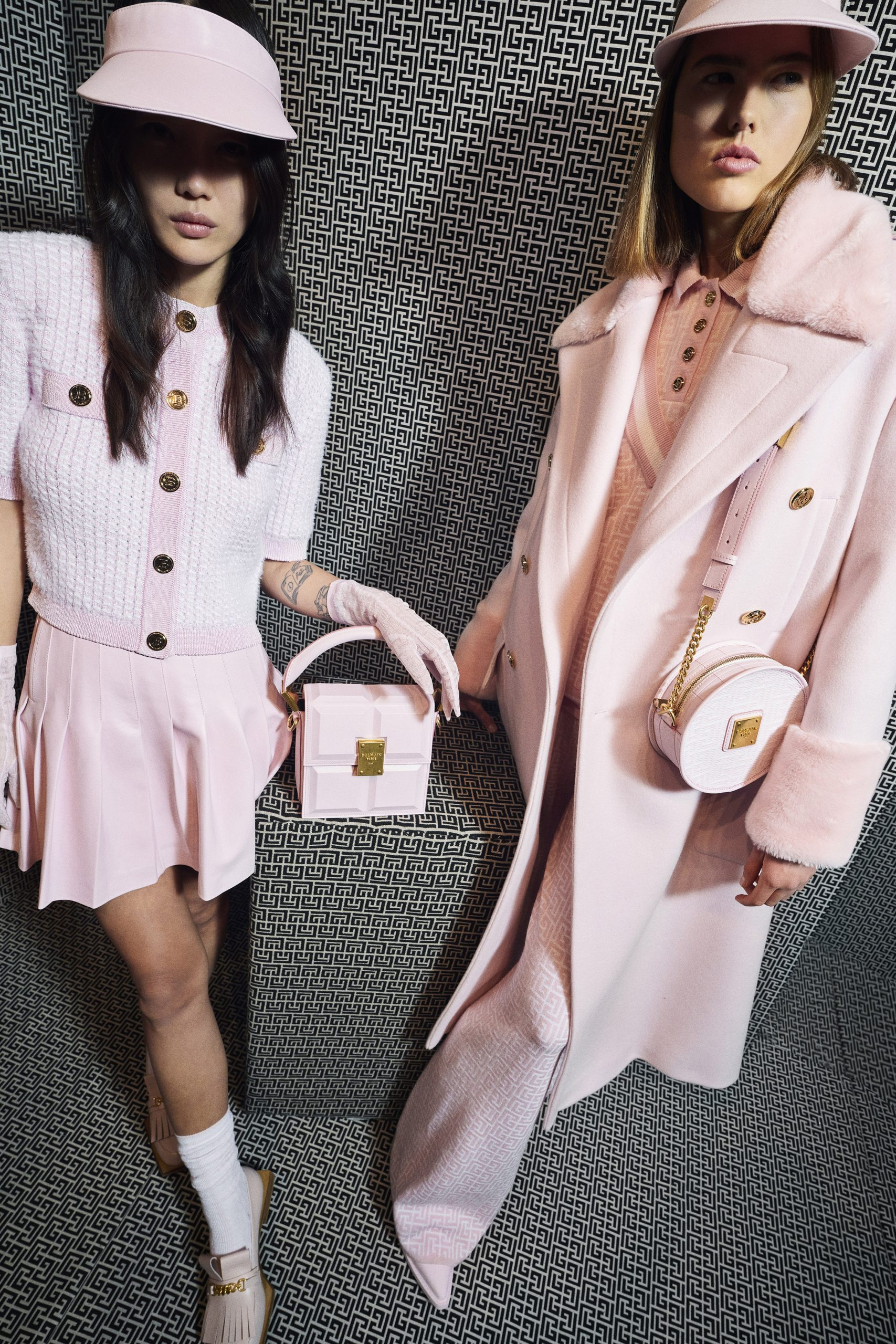 Balmain Pre-Fall 2021 Fashion Show Photos