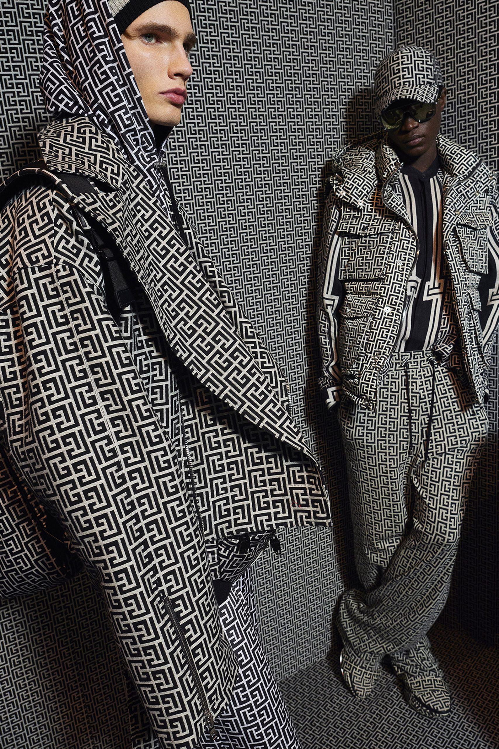 Balmain Pre-Fall 2021 Men's Fashion Show Photos