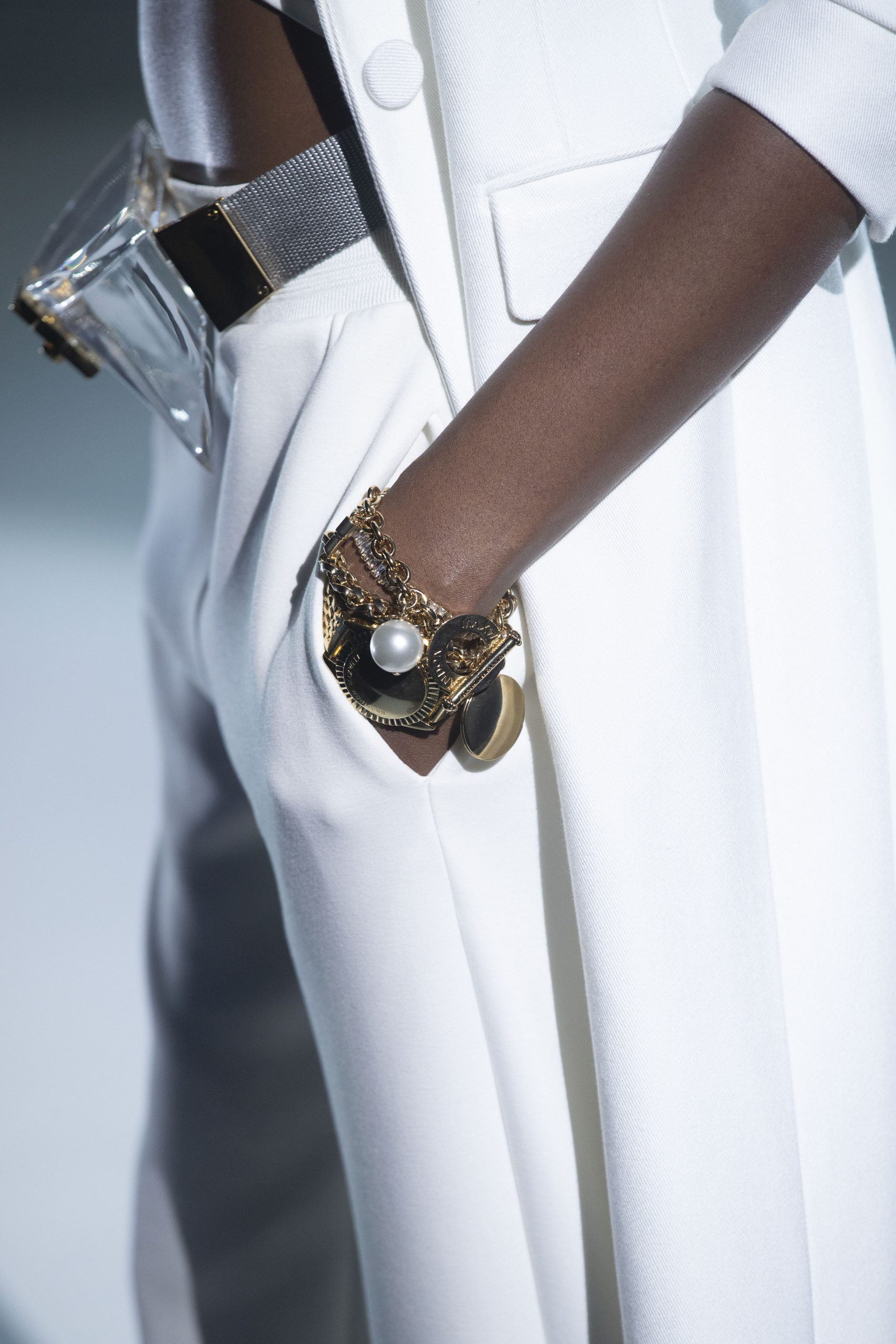 Brandon Maxwell Spring 2021 Fashion Show Detail Photos