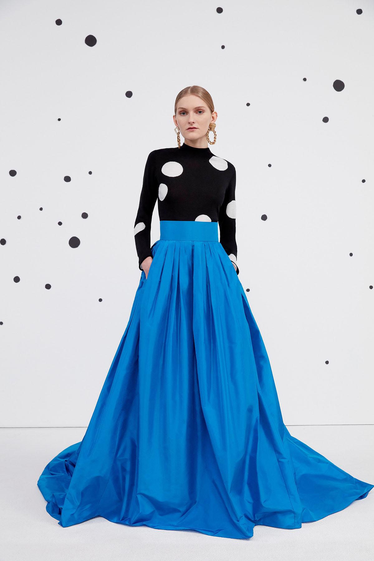 Carolina Herrera Pre-Fall 2021 Fashion Show Photos