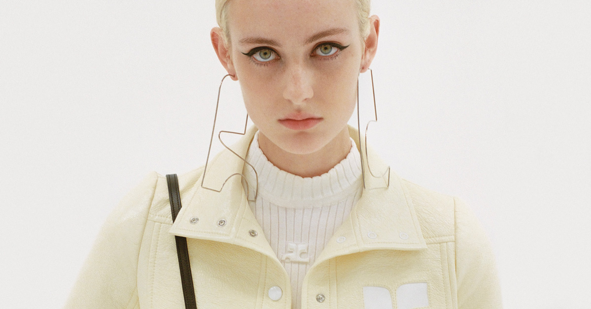 Courreges 'Reeditions' Spring 2021 Ad Campaign Film & Photos