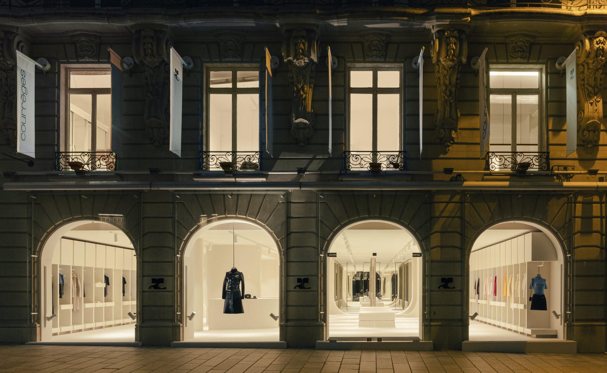 Courreges Paris Flagship