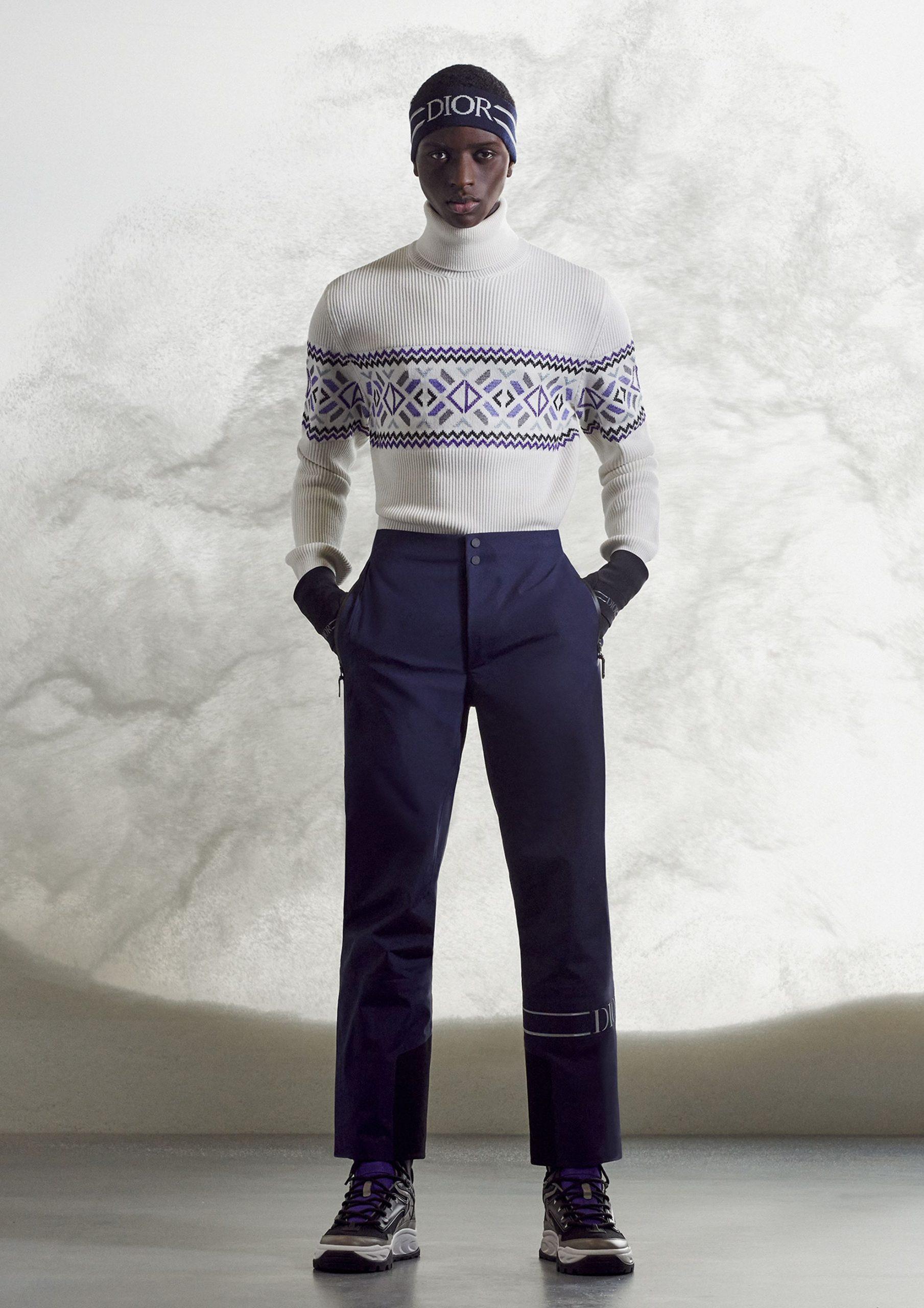 Dior Men's Ski Collaboration Collection
