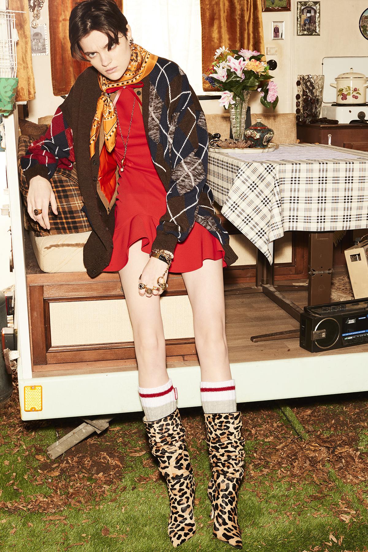 Dsquared2 Pre-Fall 2021 Fashion Show Photos