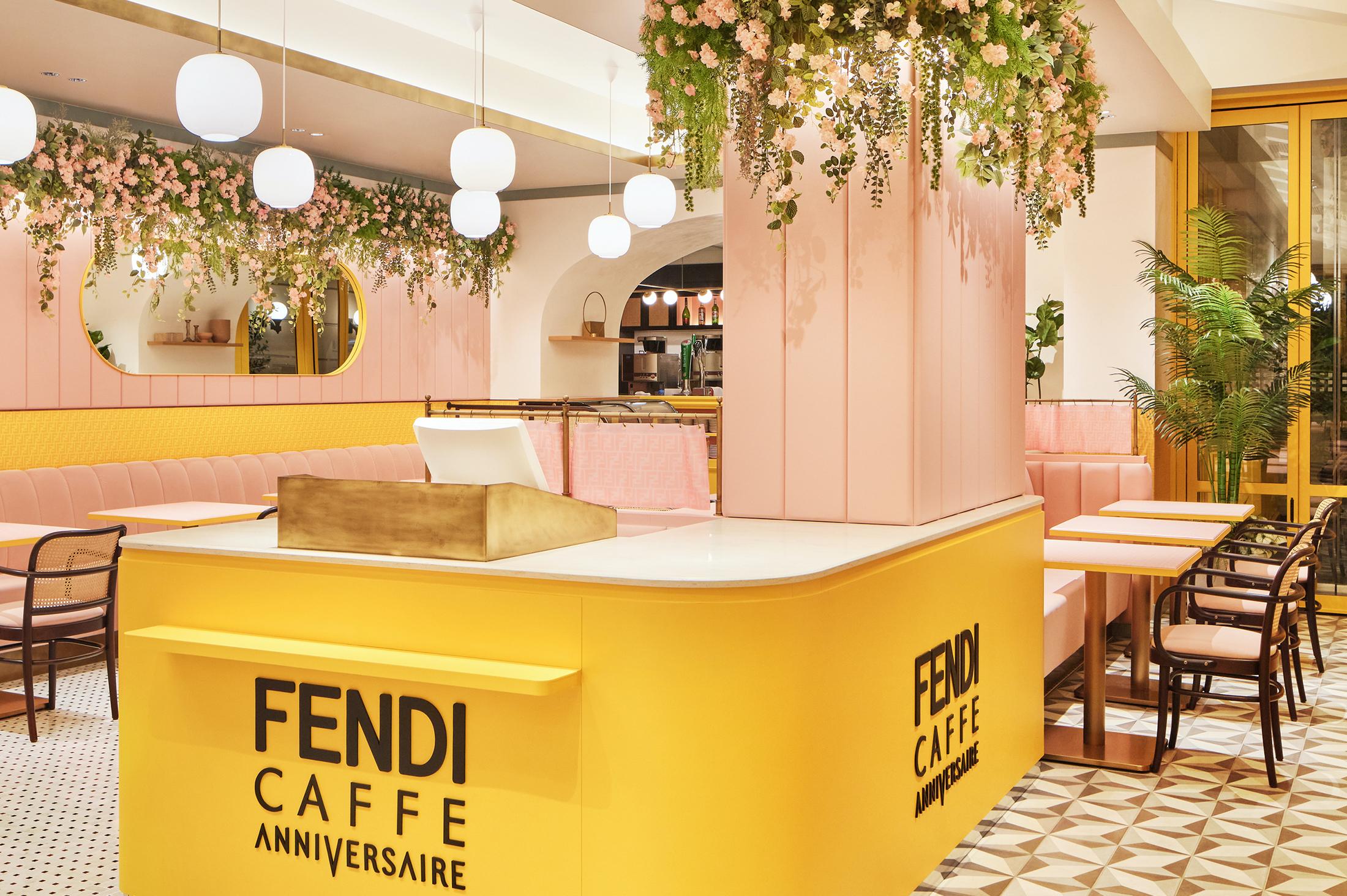 Fendi Partners With Anniversaire Café Omotesando For 'Fendi Cafe'