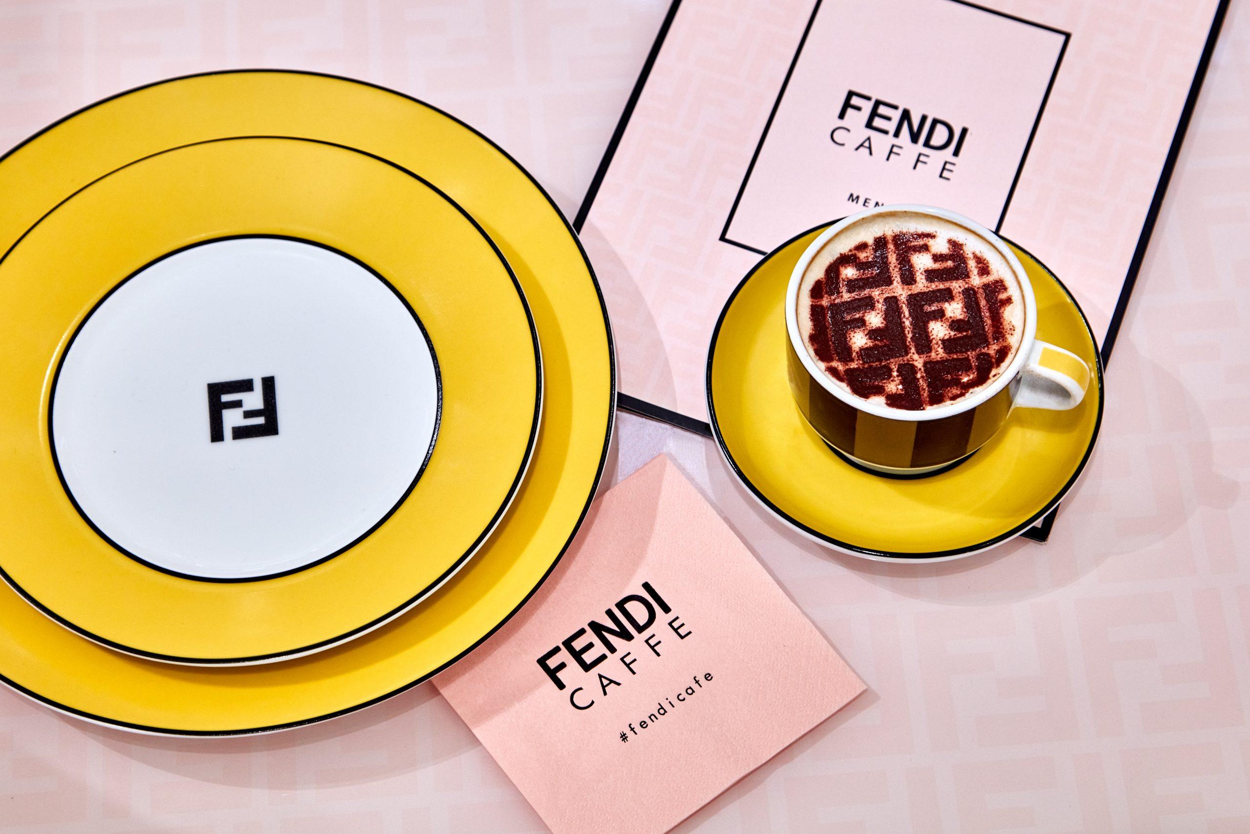 Fendi Caffe Commandeers Selfridges London