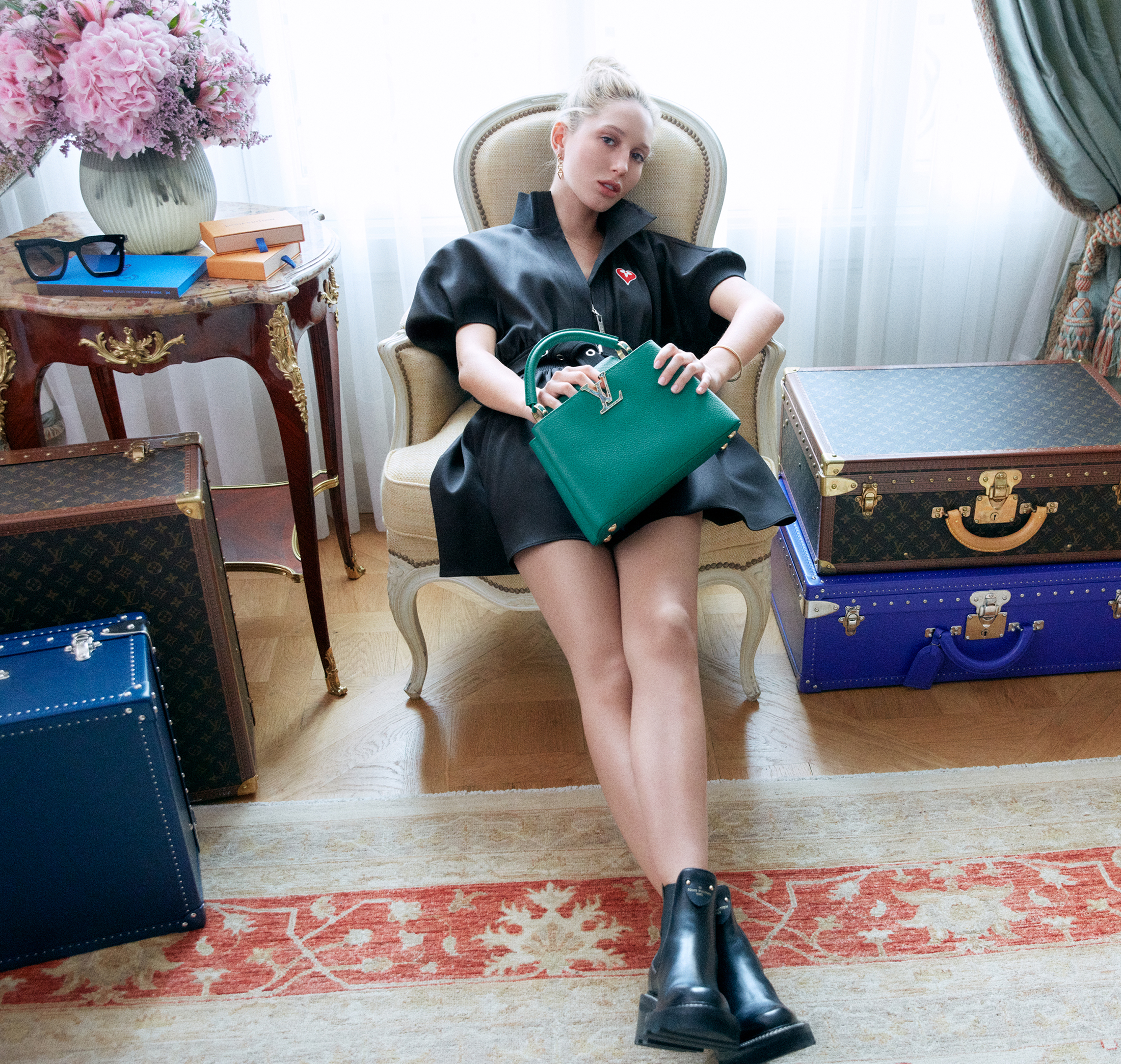 Louis Vuitton Princess Olympia of Greece Spring 2021 Ad Campaign Film & Photos