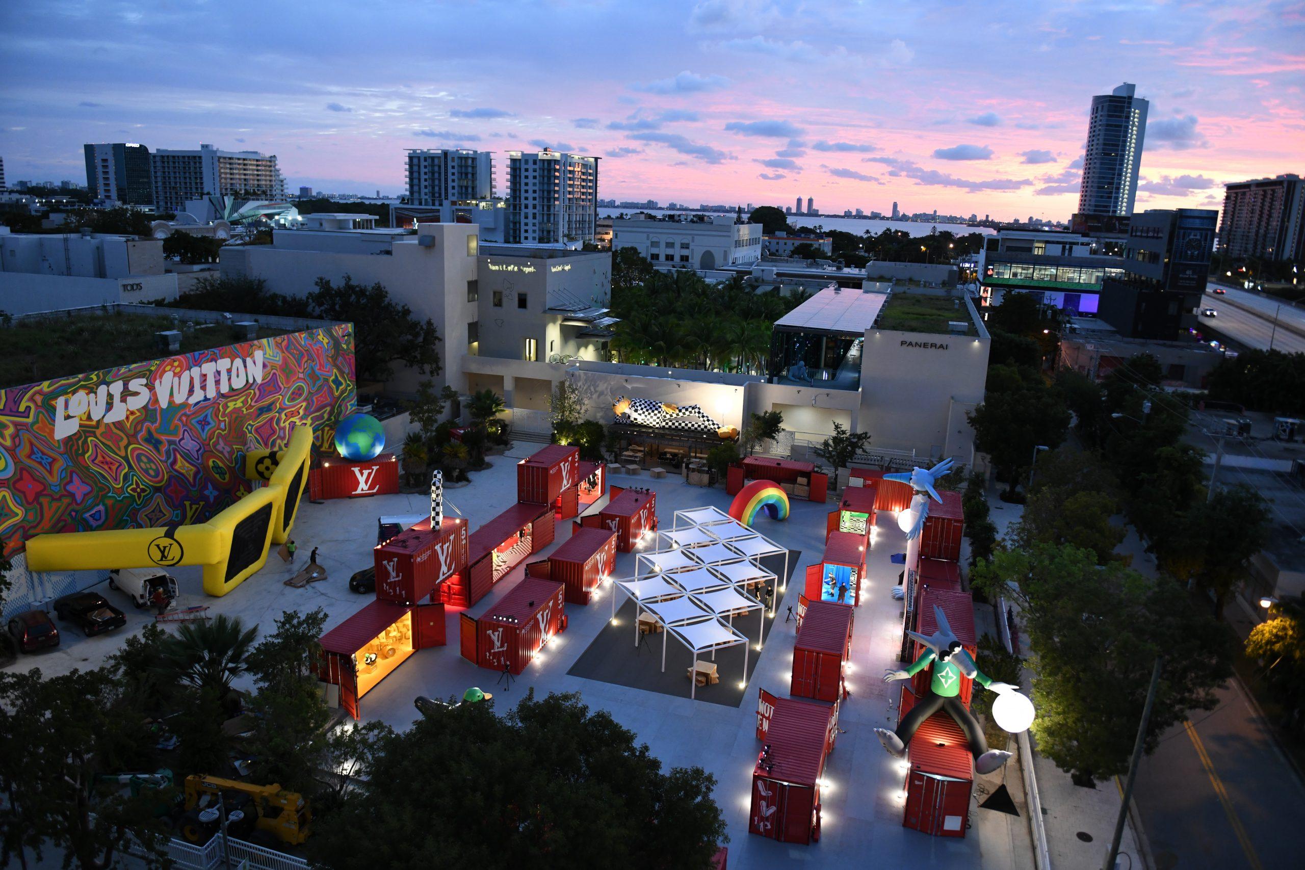 Louis Vuitton AR Art Exhibit Miami Design District