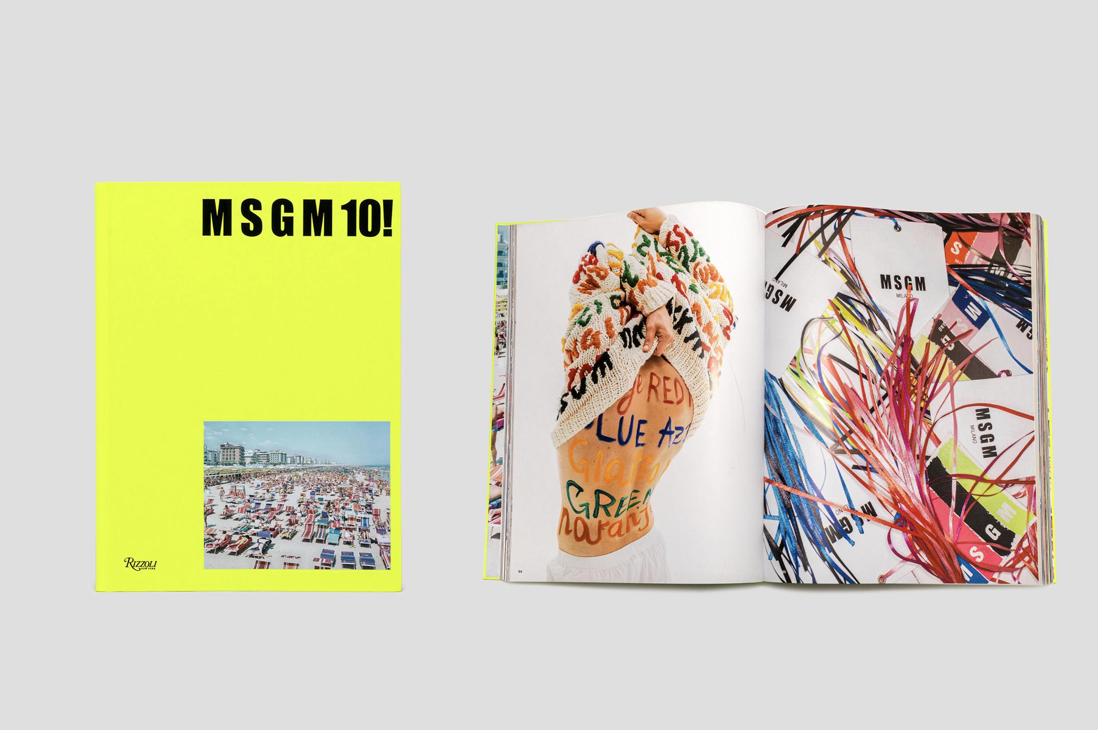 MSGM Releases 10th Anniversary Book