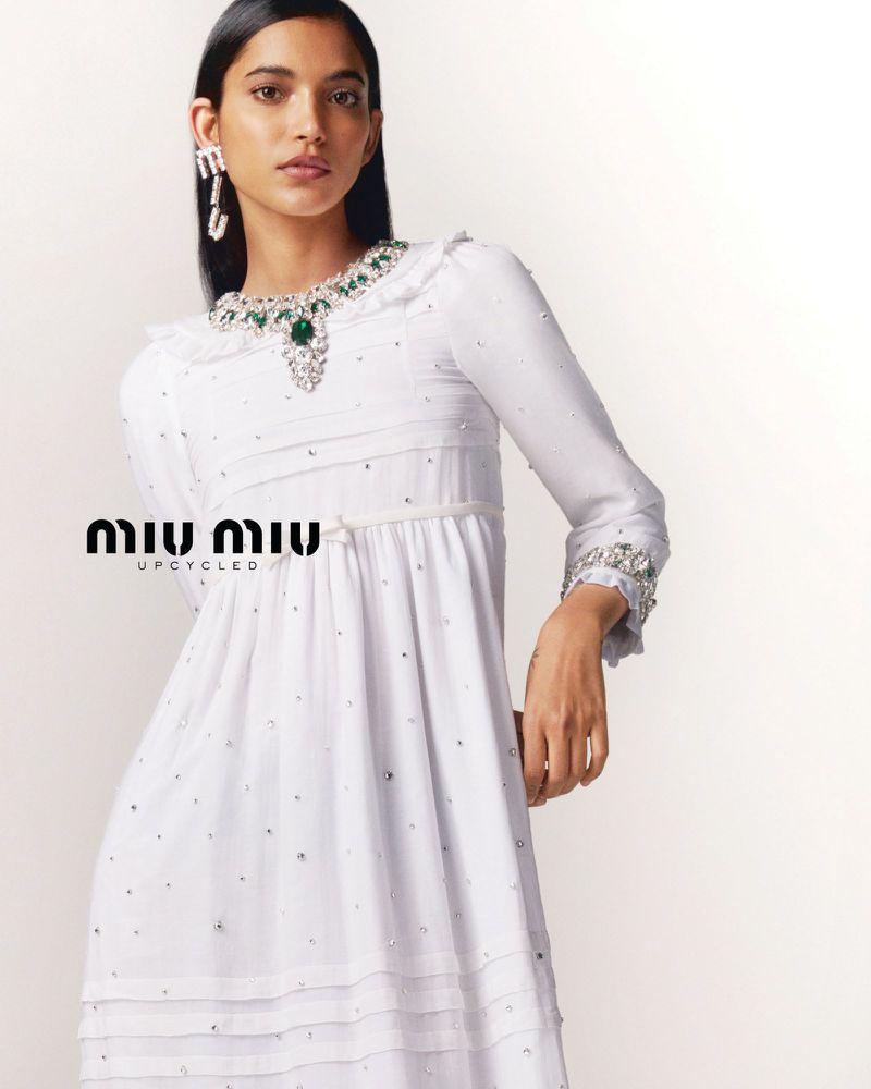 Miu Miu Upcycled Spring 2021 Ad Campaign Film & Photos