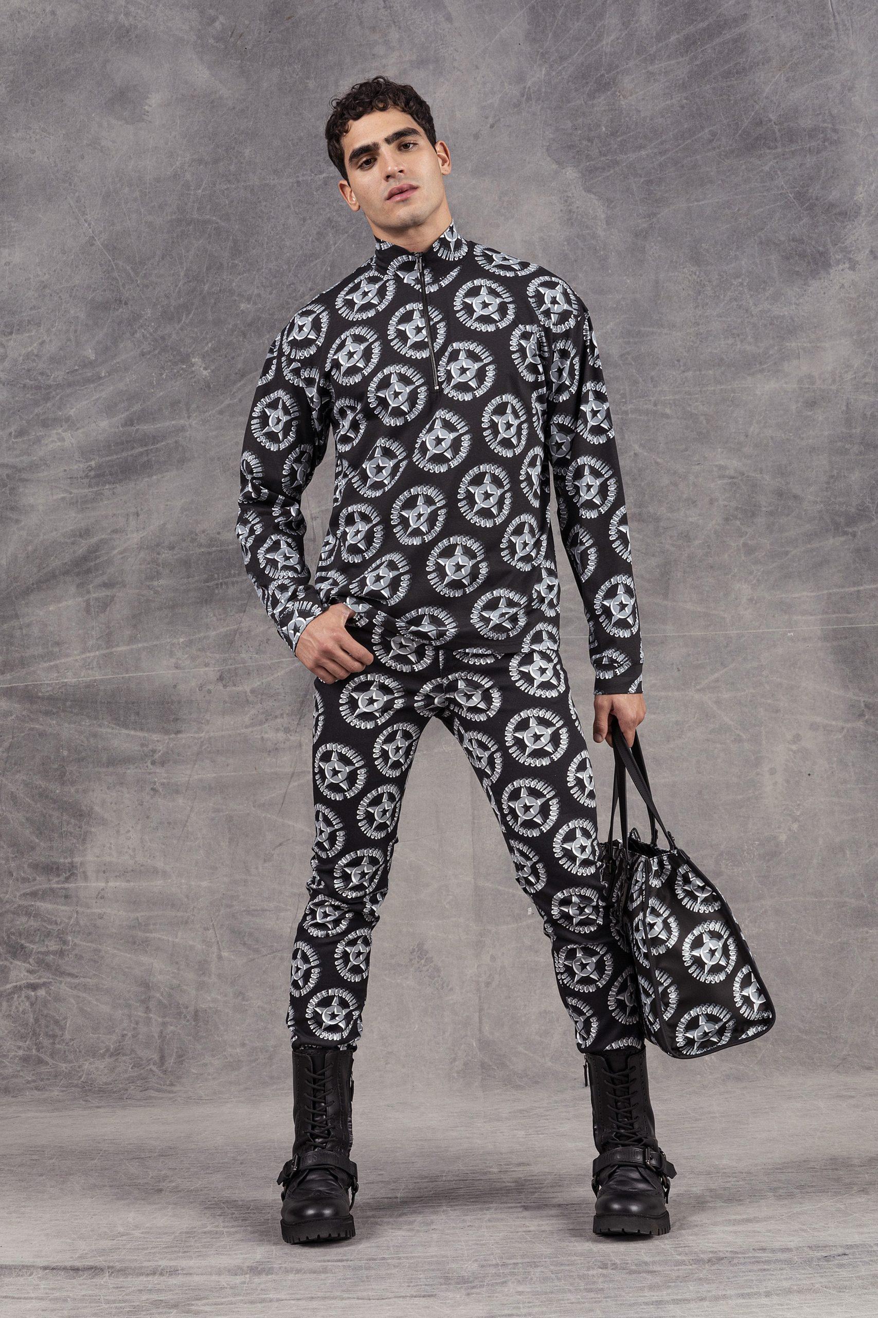 Moschino Pre-Fall 2021 Men's Fashion Show Photos