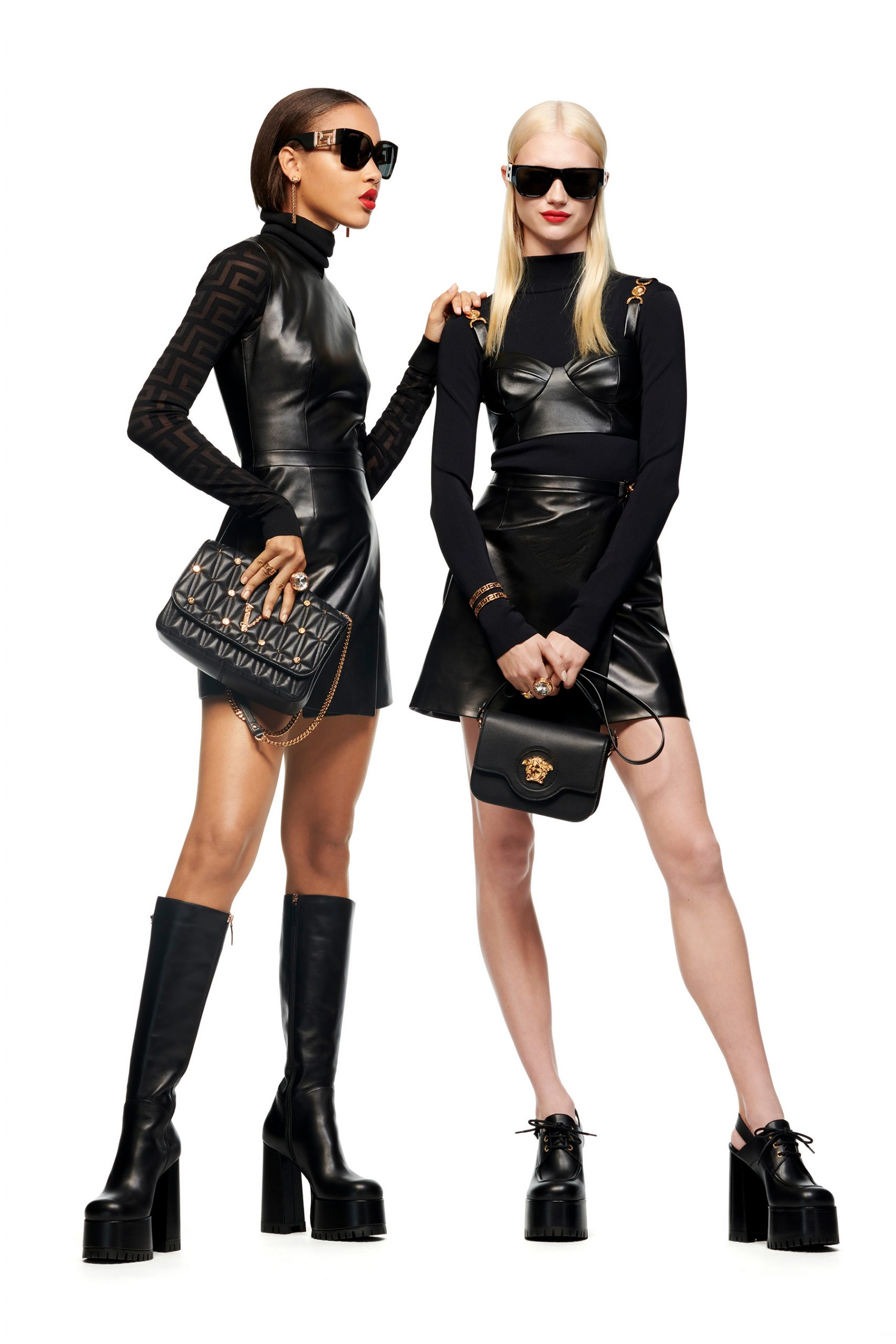 Versace Pre-Fall 2021 Fashion Show Photos