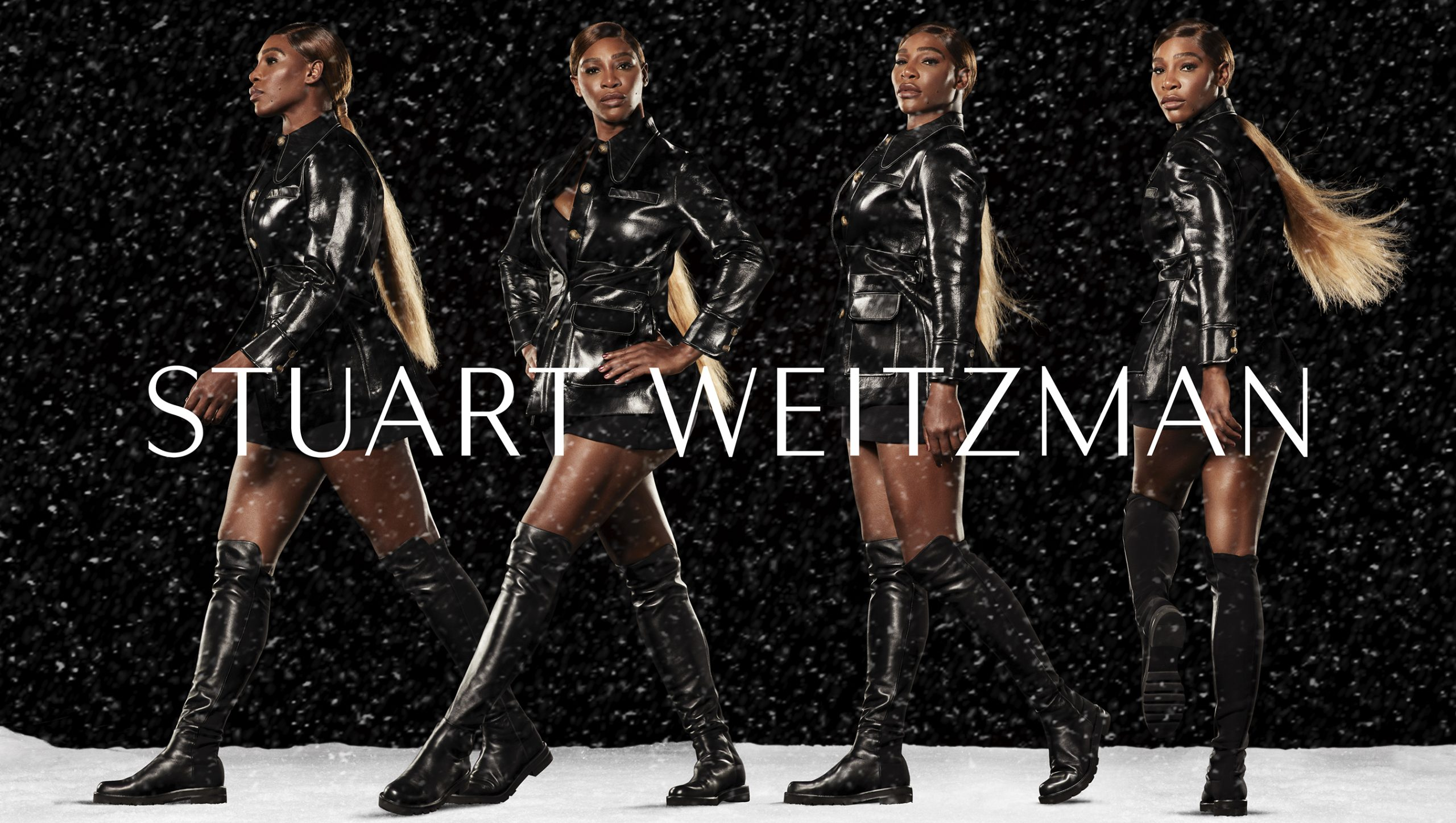 Stuart Weitzman's Holiday 2020 Campaign Stars Serena Williams