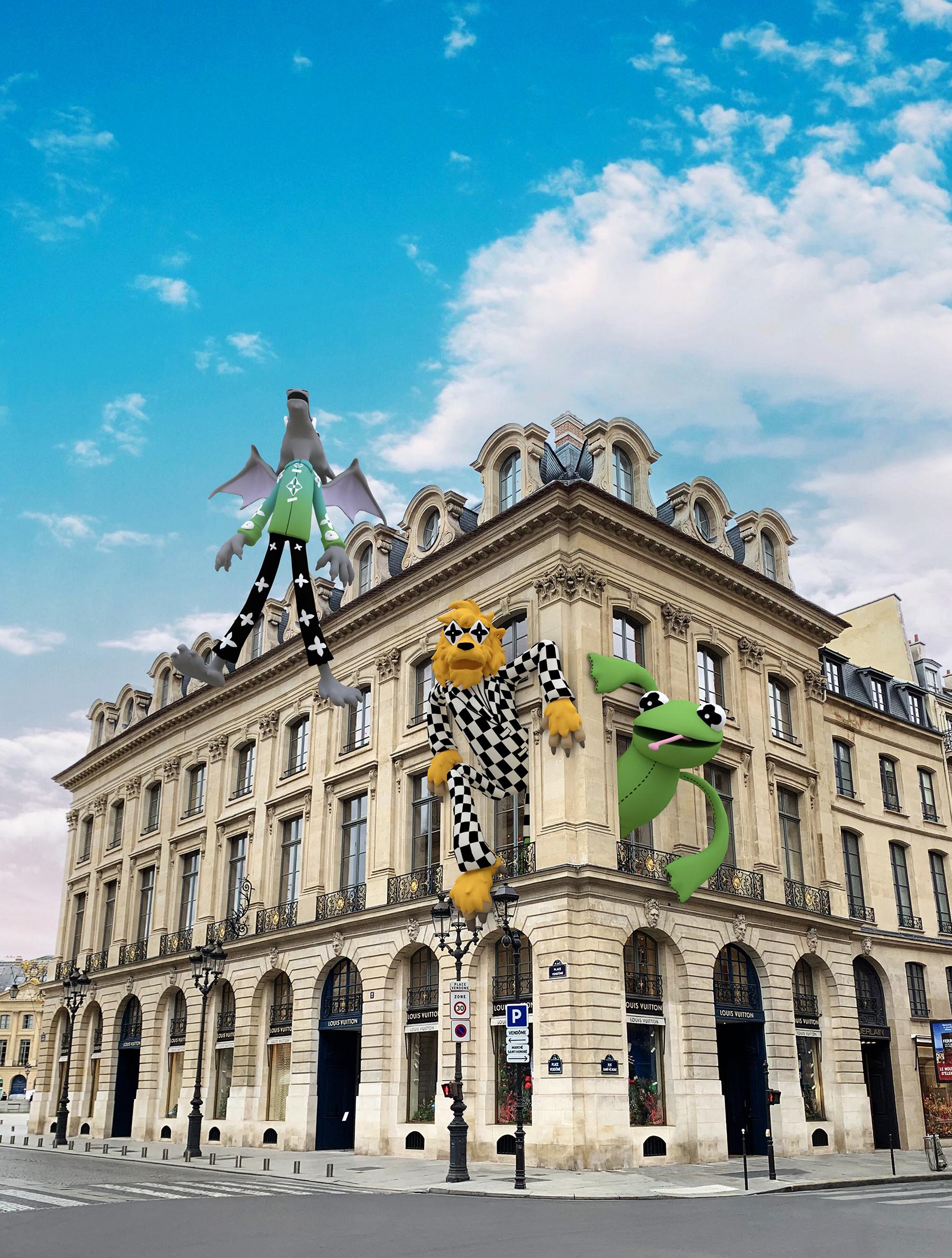 Louis Vuitton Men's Launches Paris Events
