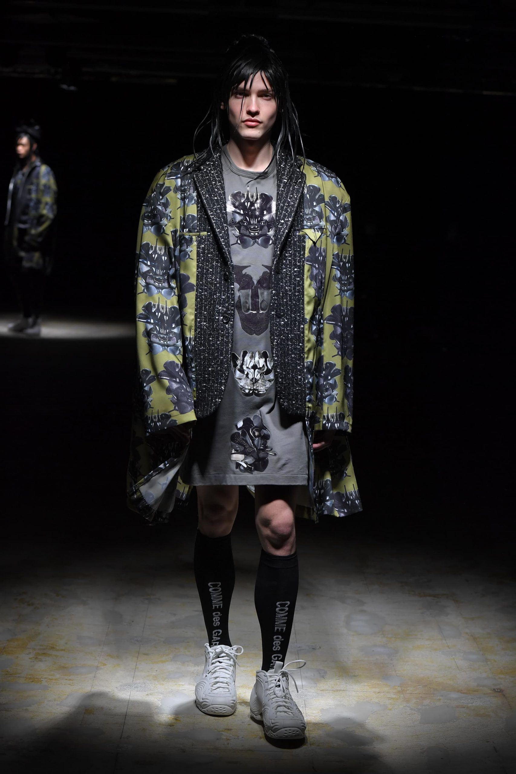 Comme Des Garcons Homme Plus Fall 2021 Men's Fashion Show Photos