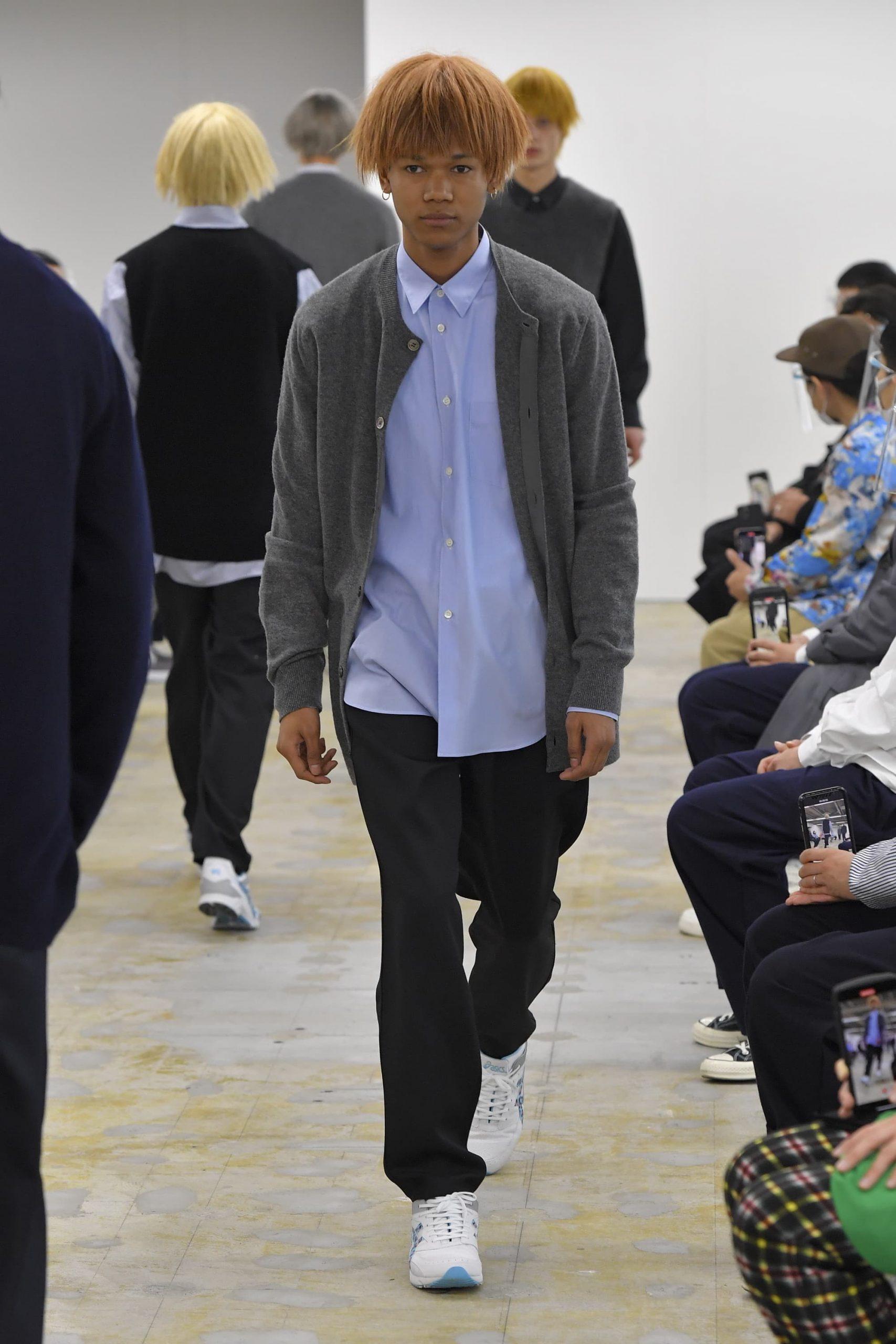 Comme Des Garcons Shirt Fall 2021 Men's Fashion Show Photos