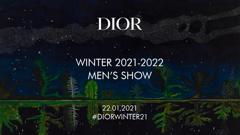Watch Dior Men's Fall 2021 Fashion Show Live