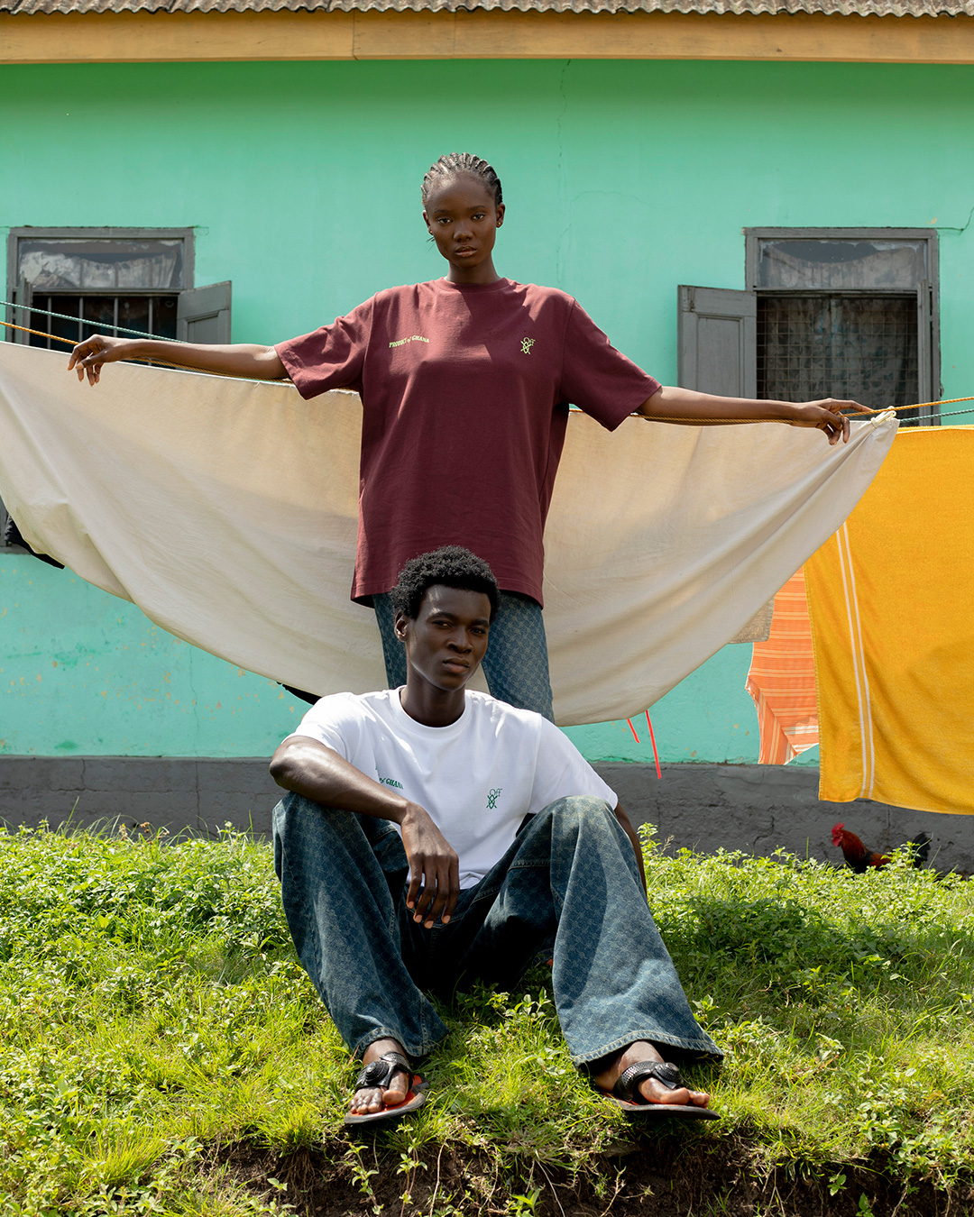 Daily Paper, Off-White, and Surf Ghana Launch Capsule Collection