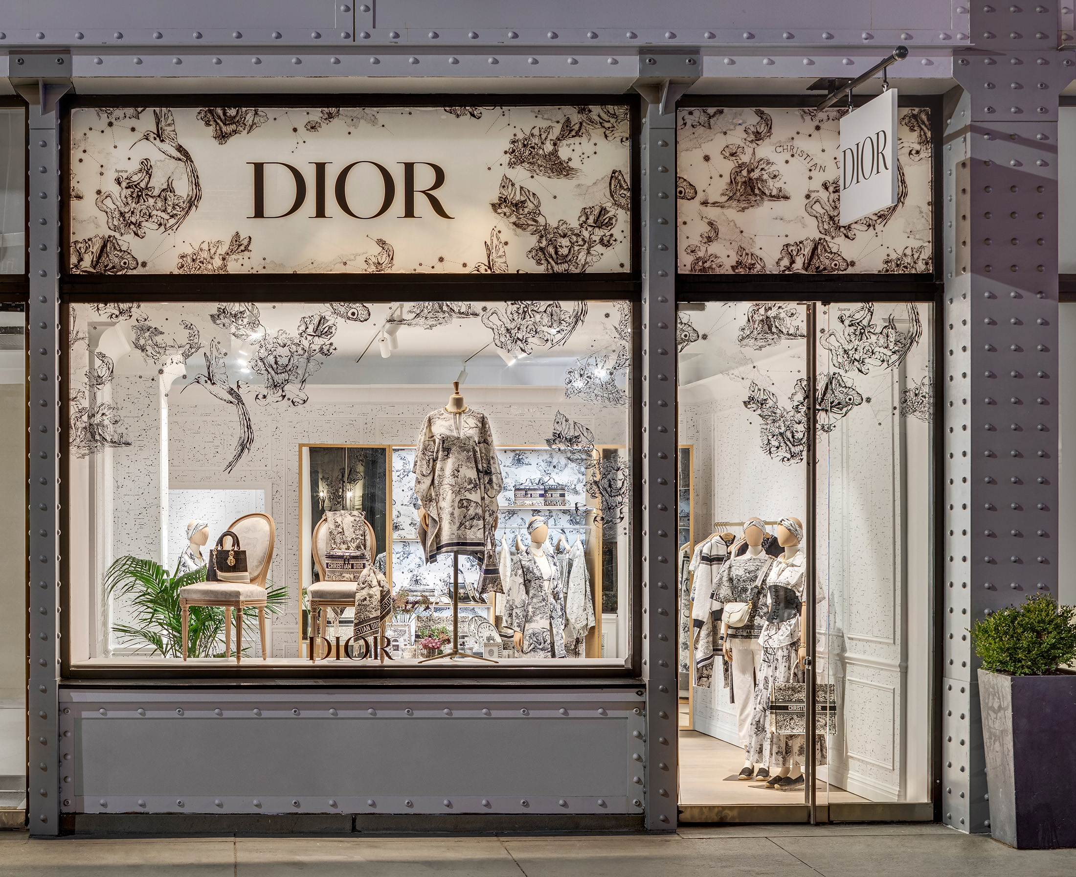 Dior Opens Chez Moi Pop-Up In Soho